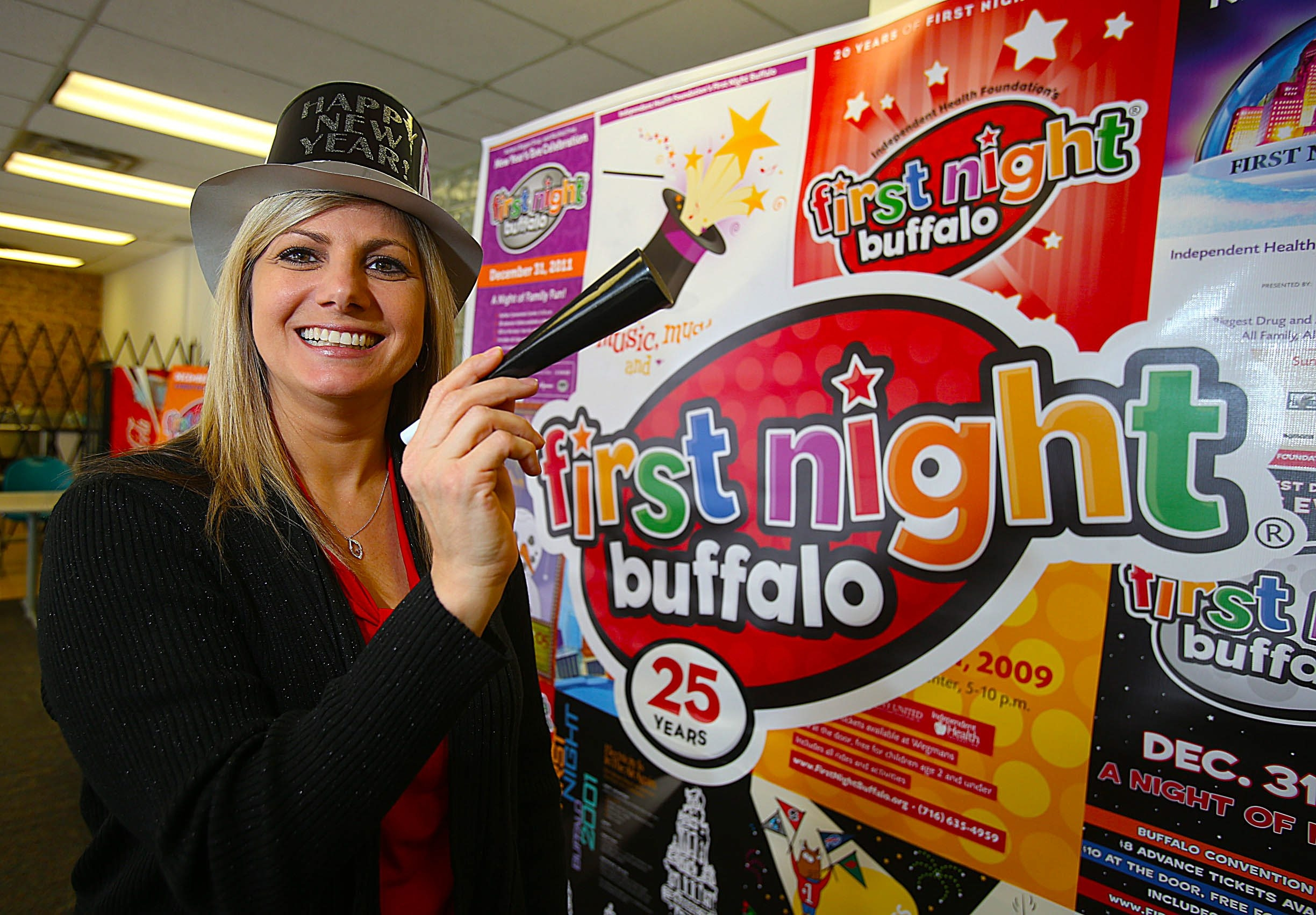 """""""We really want to encourage people before they get there to take a look at all the activities, because there's so much going on you want to plan the night out."""" — Carrie Meyer"""