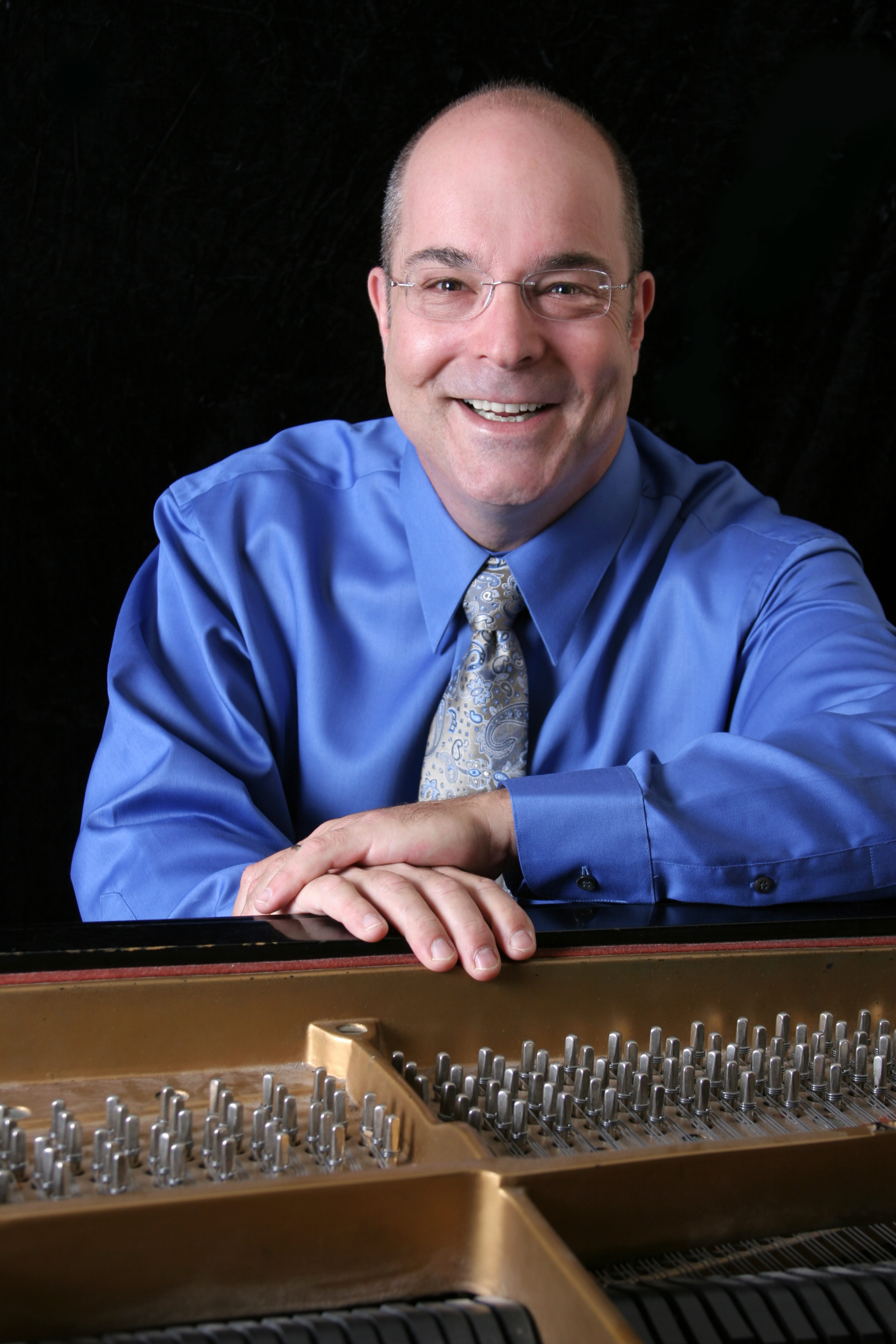 Norman Krieger will perform next March.