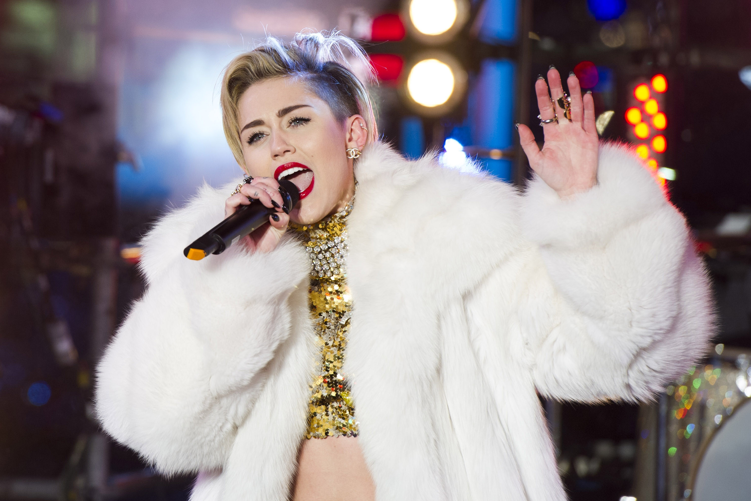 Miley Cyrus says she will be focusing on her singing and not dance moves when her tour kicks off Feb. 14 .