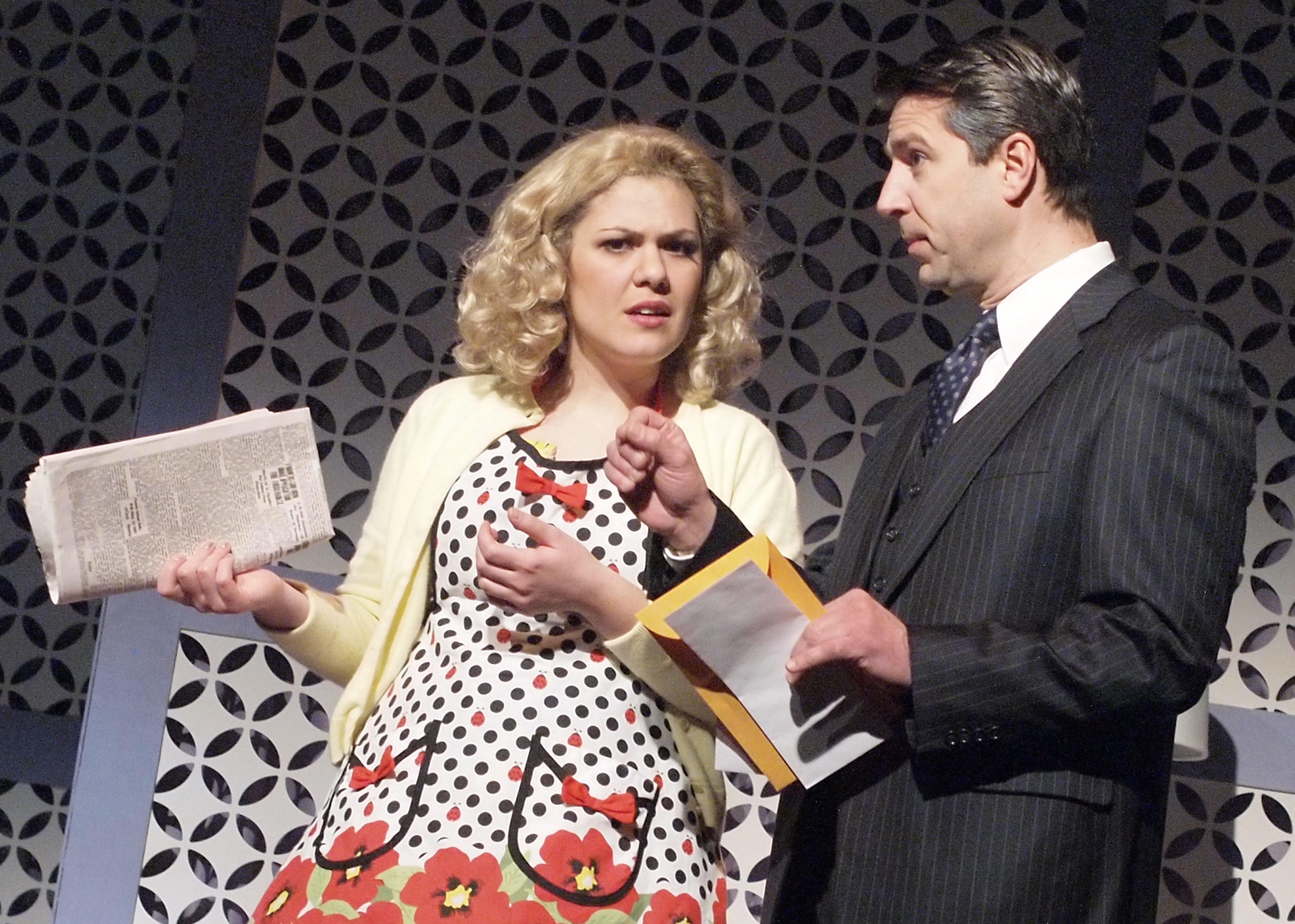 "Kerisa Yvonne Bonvil and Darryl Hart star in ""Nancy Drew and the Mystery at Lilac Inn."""
