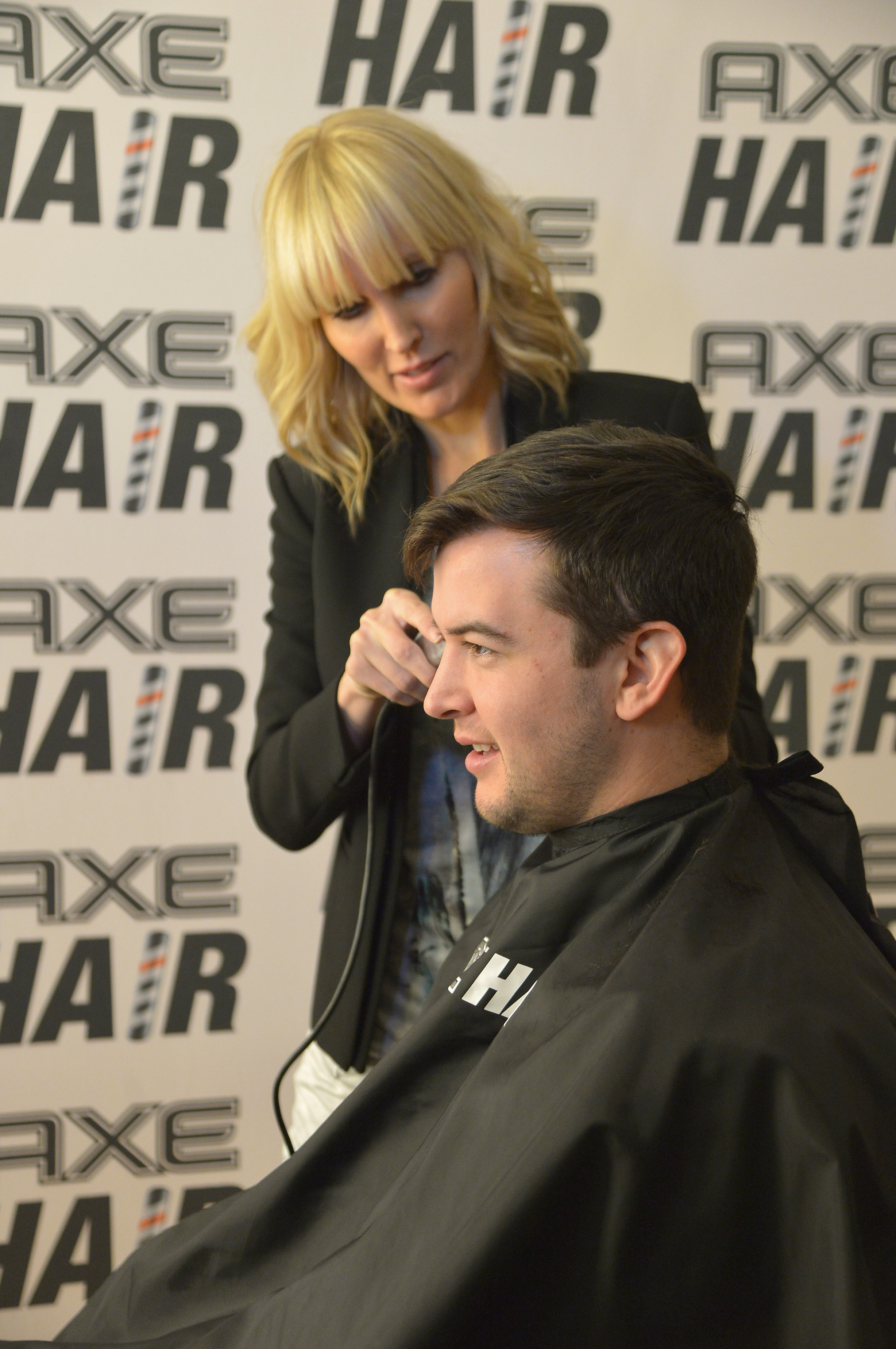 New Face: AXE Hair has signed former Alabama quarterback AJ McCarron, shown here Wednesday in New York City, and hopes to take advantage of his clean image.