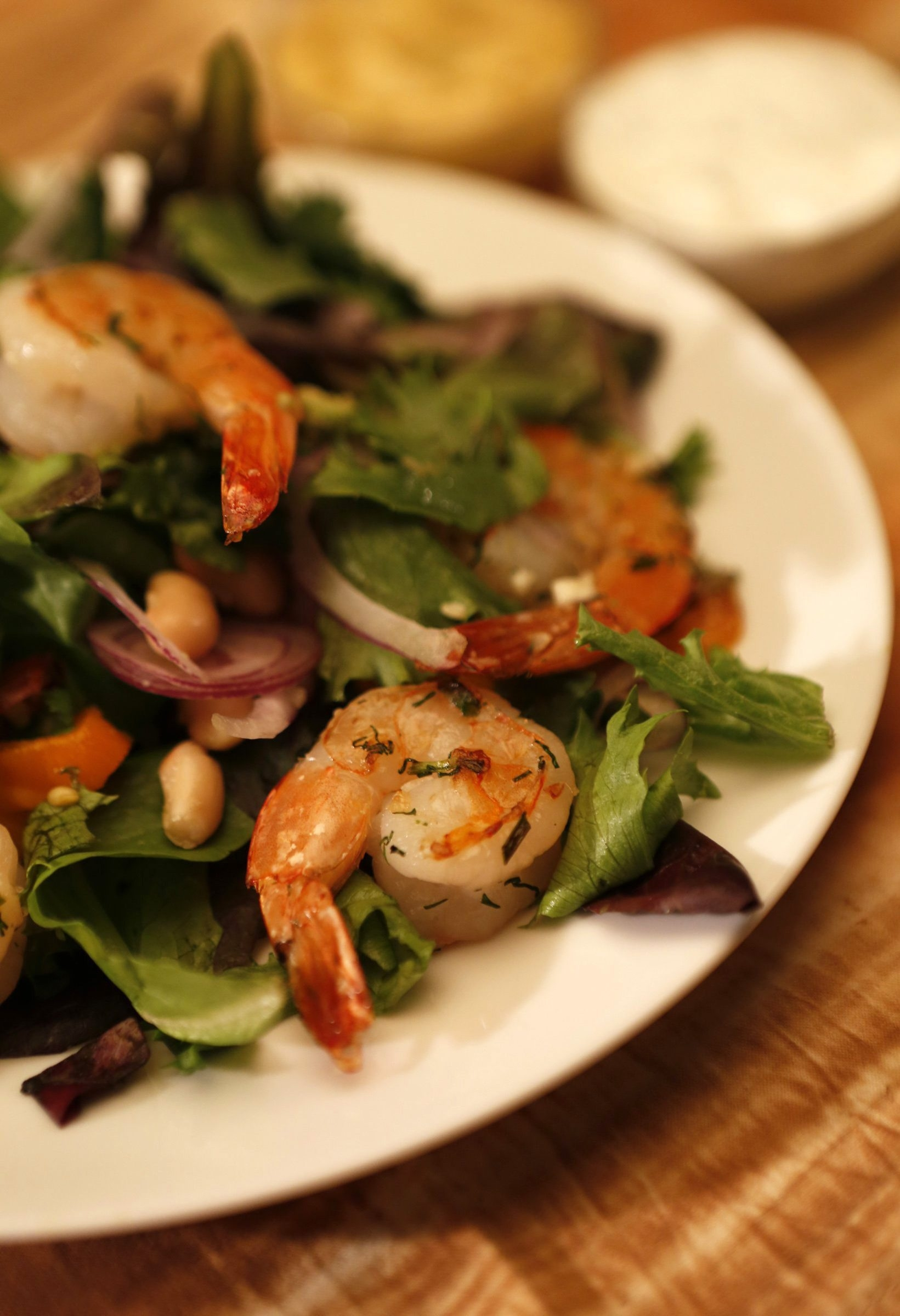 The restaurant at the Getty Center in Los Angeles shares its recipe for this shrimp salad.