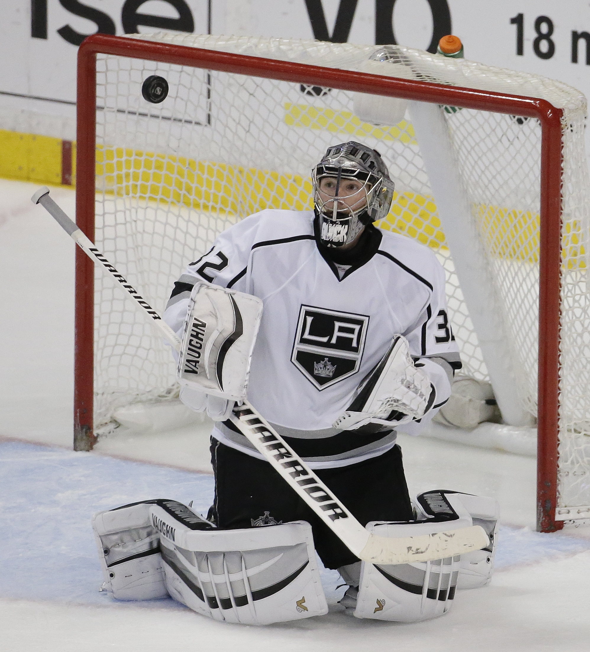 Kings goalie Jonathan Quick is in a heated competition with Buffalo's Ryan Miller to be the starter for the American Olympic team.