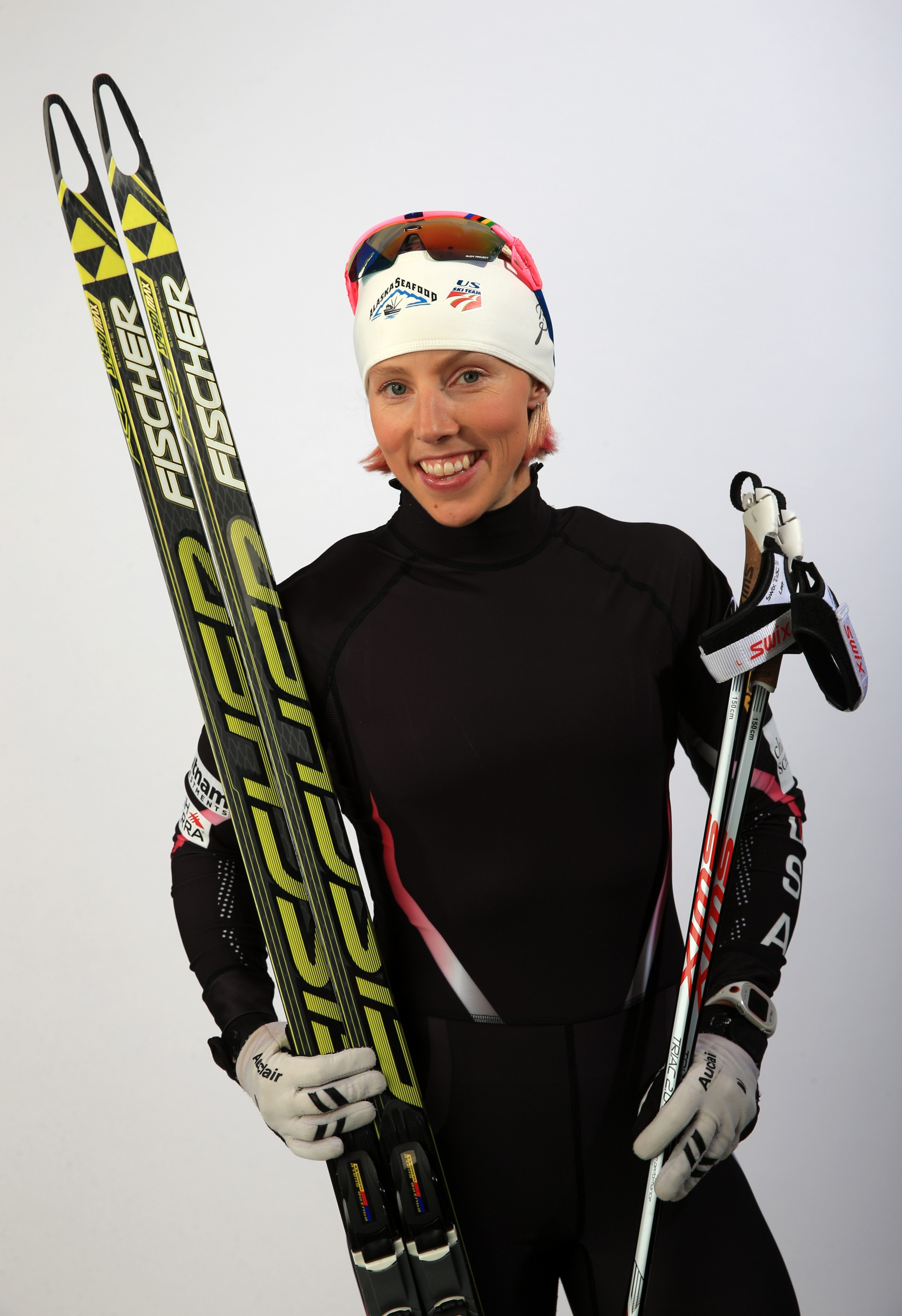 Kikkan Randall has won 17 national titles in cross country skiing and is a two-time world sprint champion.