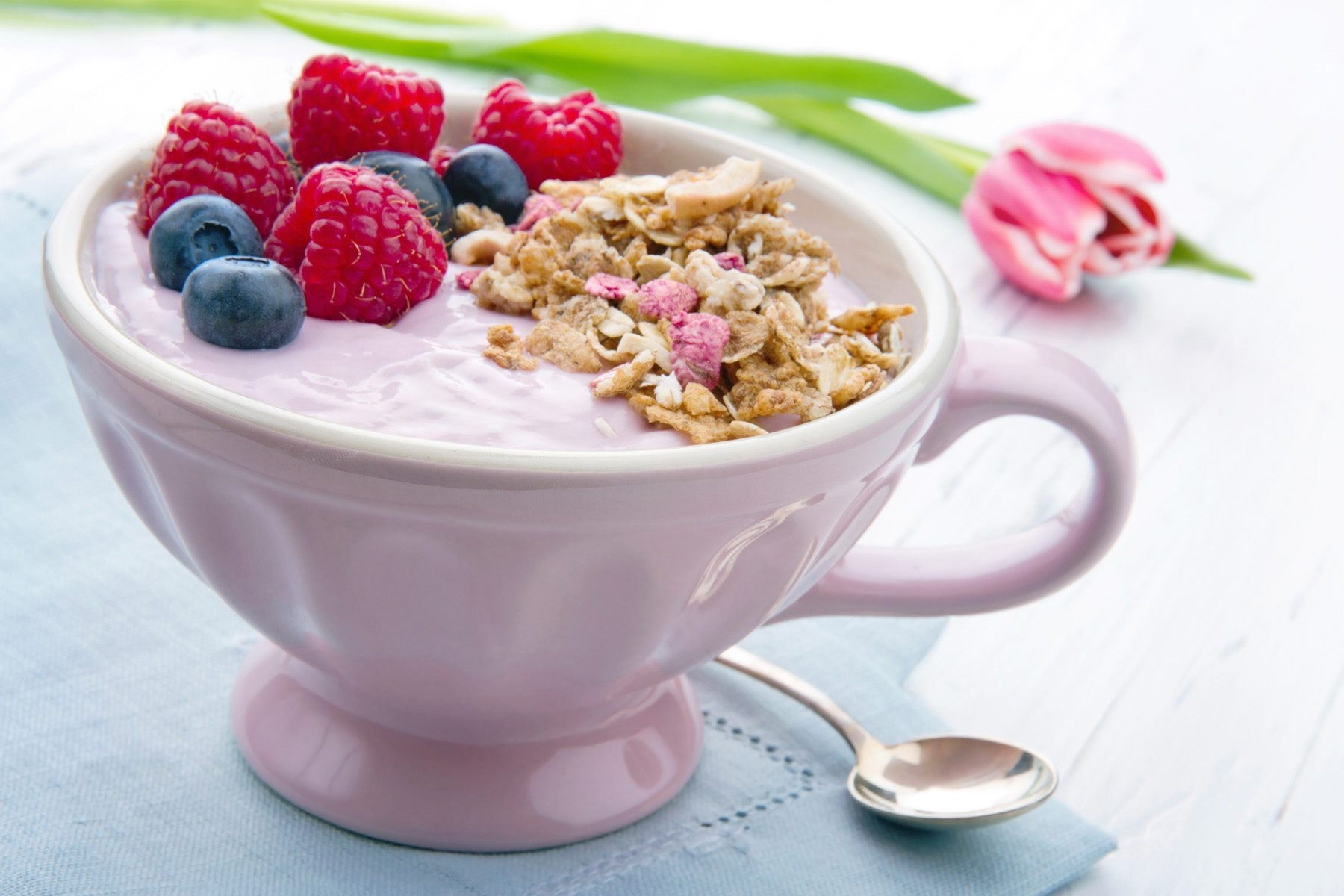If you re sprinkling granola on yogurt, limit it to a few tablespoons.