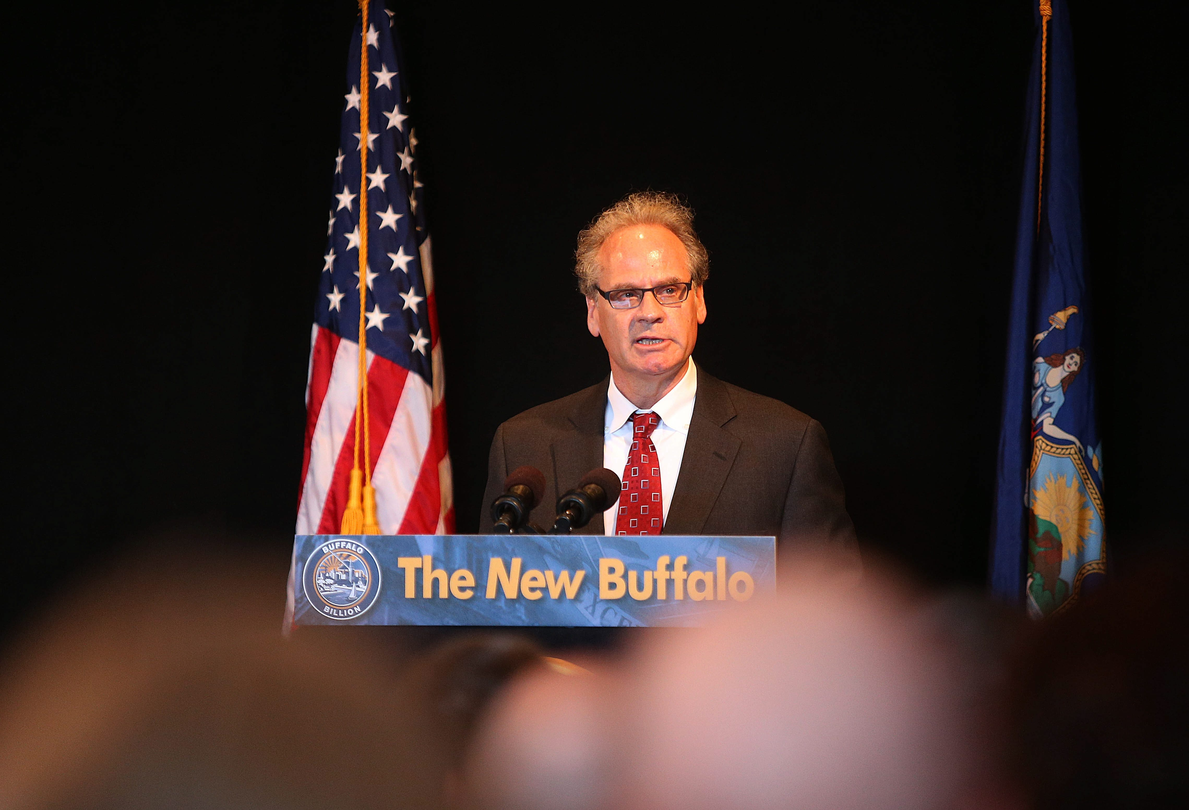"""""""Simply put, we could not have asked for more in this budget relative to the Buffalo Billion.""""   – Howard A. Zemsky"""