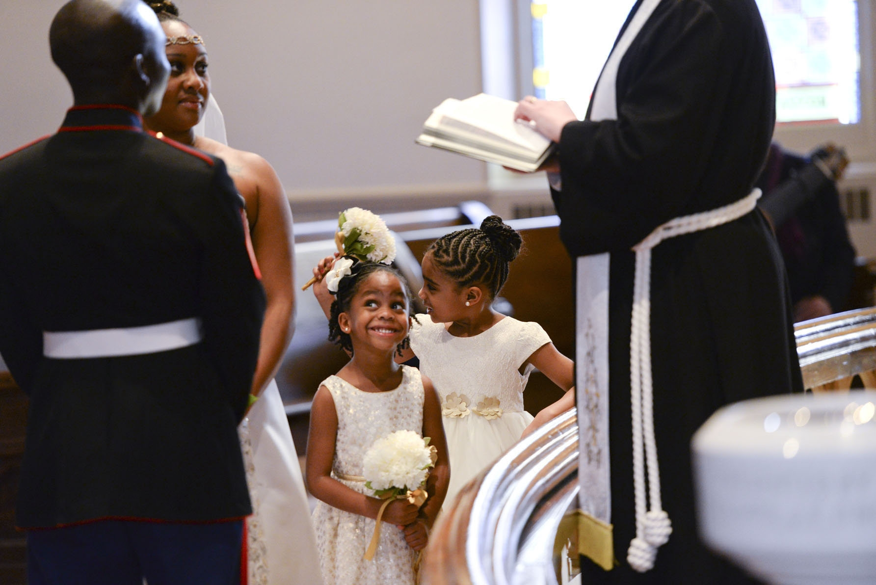 To avoid any hurt feelings among family members, make a uniform policy when it comes to inviting children to your wedding.