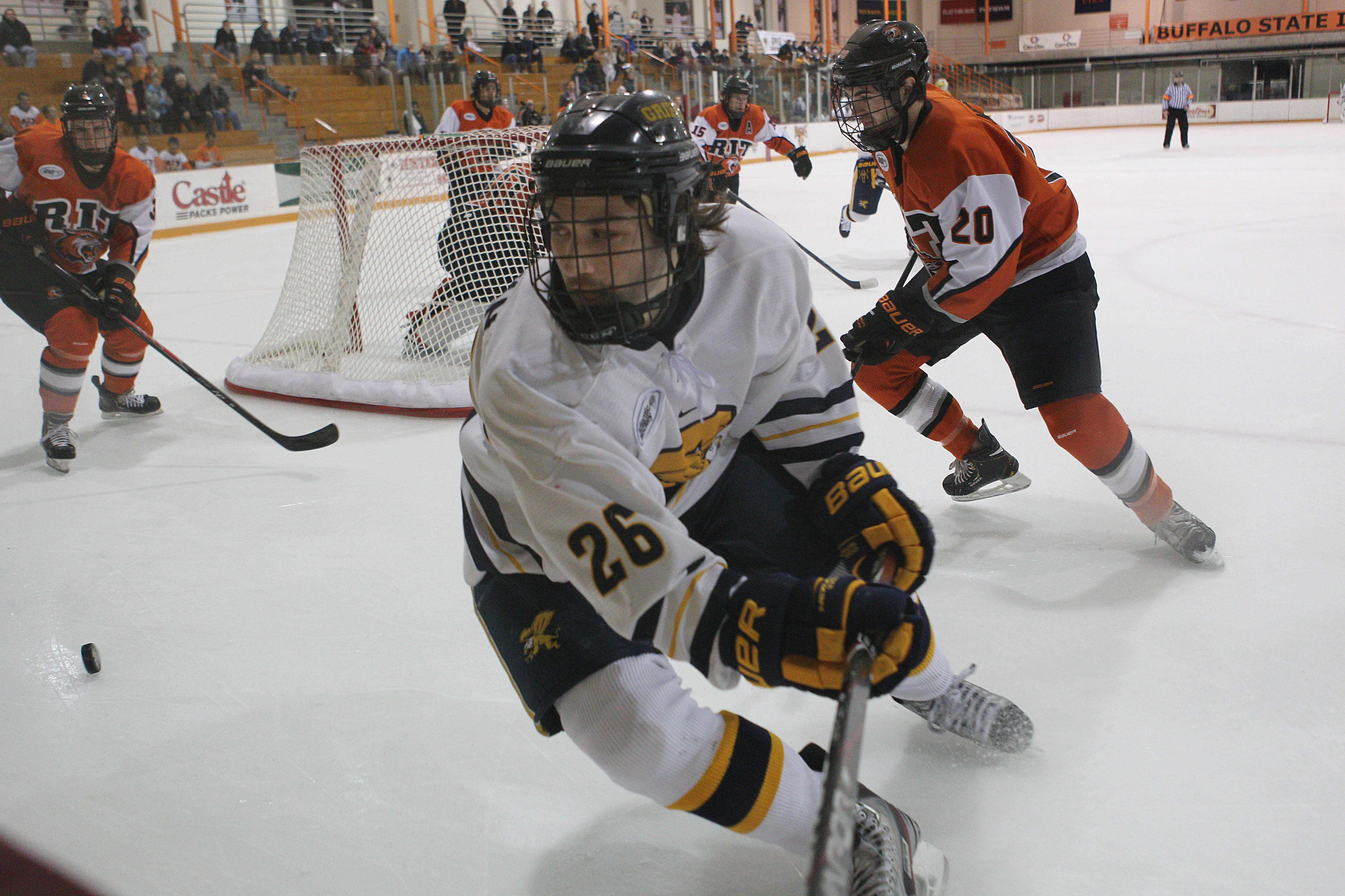 Patrick Sullivan is one of seven seniors who will play their last home game tonight for Canisius College.