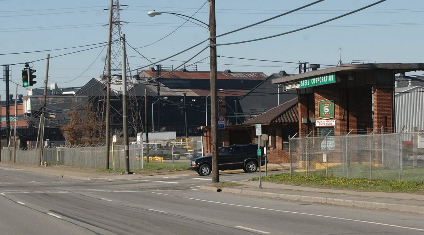 The former Bethlehem Steel plant on Route 5 in Lackawanna is now home to a Canadian steel pipe company.