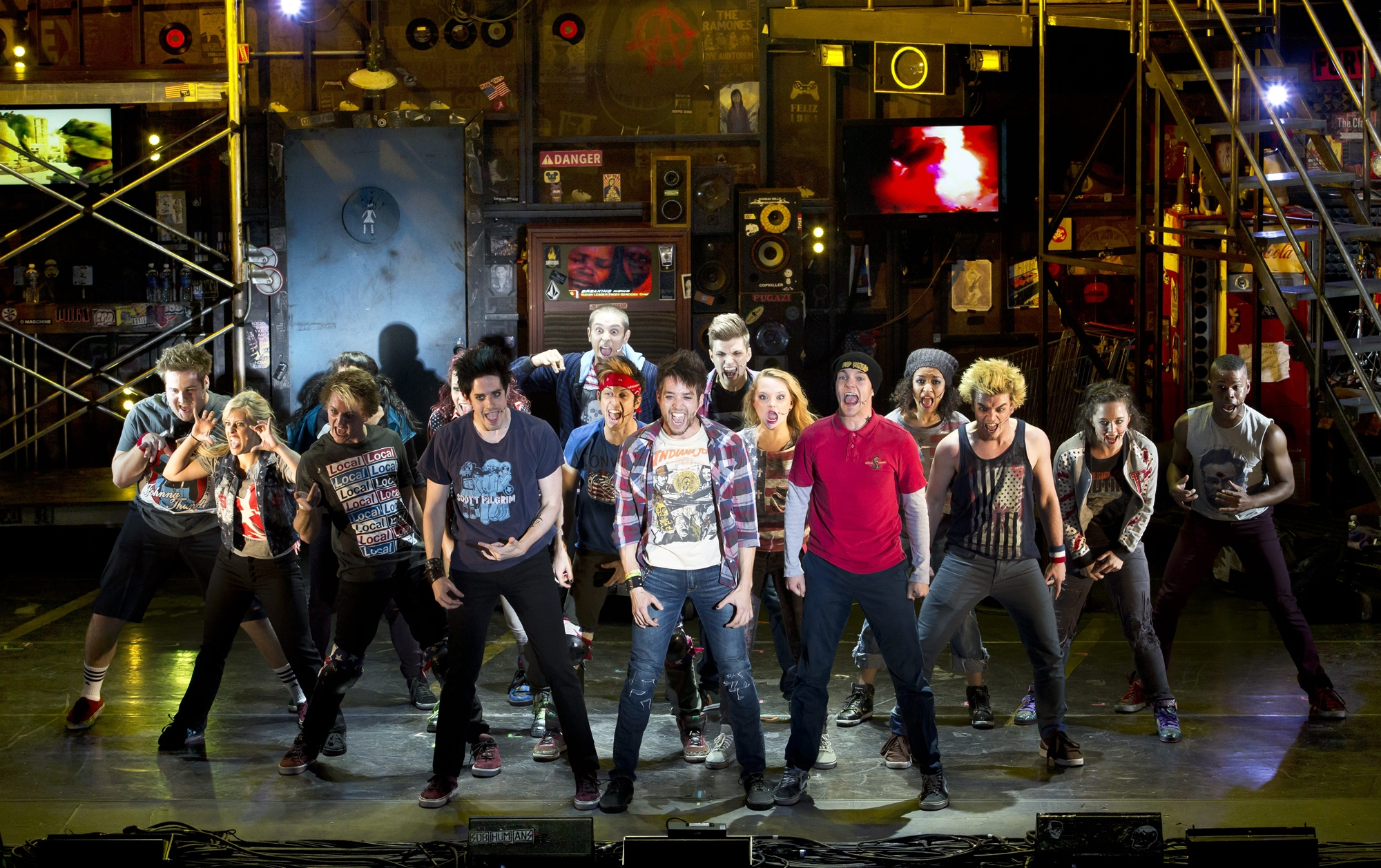 """""""American Idiot"""" is performed Friday in Shea's Performing Arts Center."""