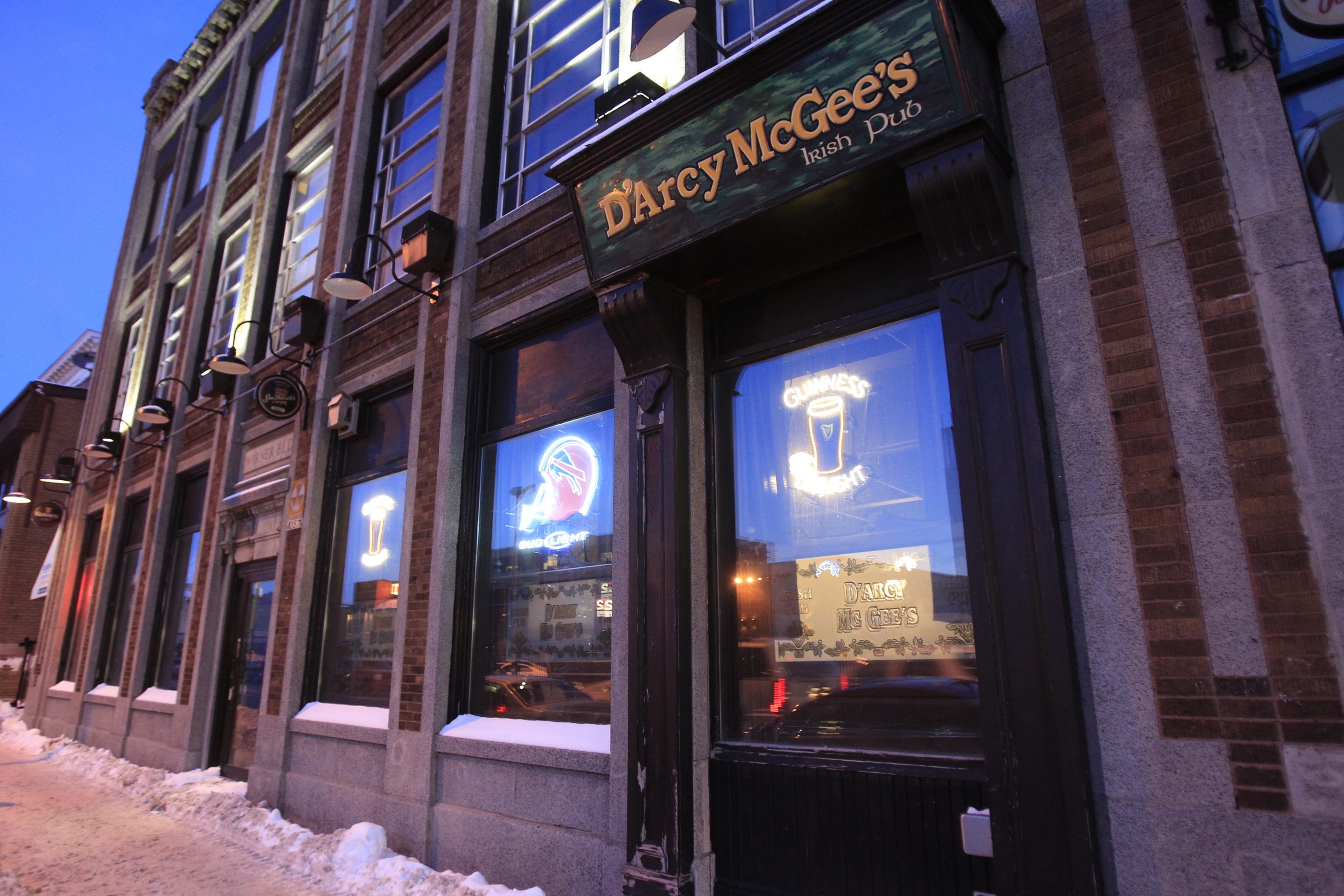 D'Arcy McGee's Irish Pub is an overlooked gem downtown.