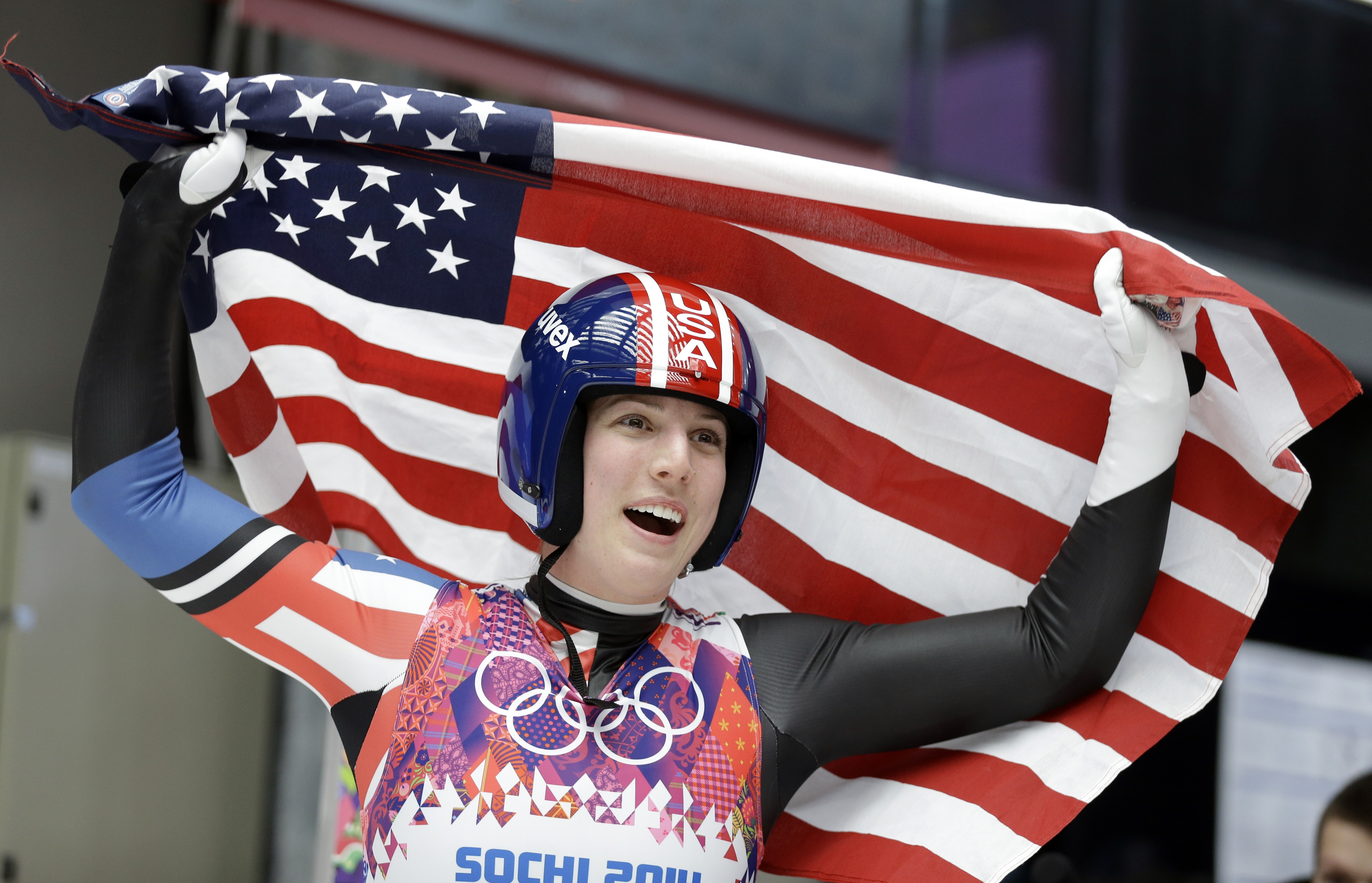 It was a great moment for luge bronze medalist Erin Hamlin, of tiny Remsen, N.Y.