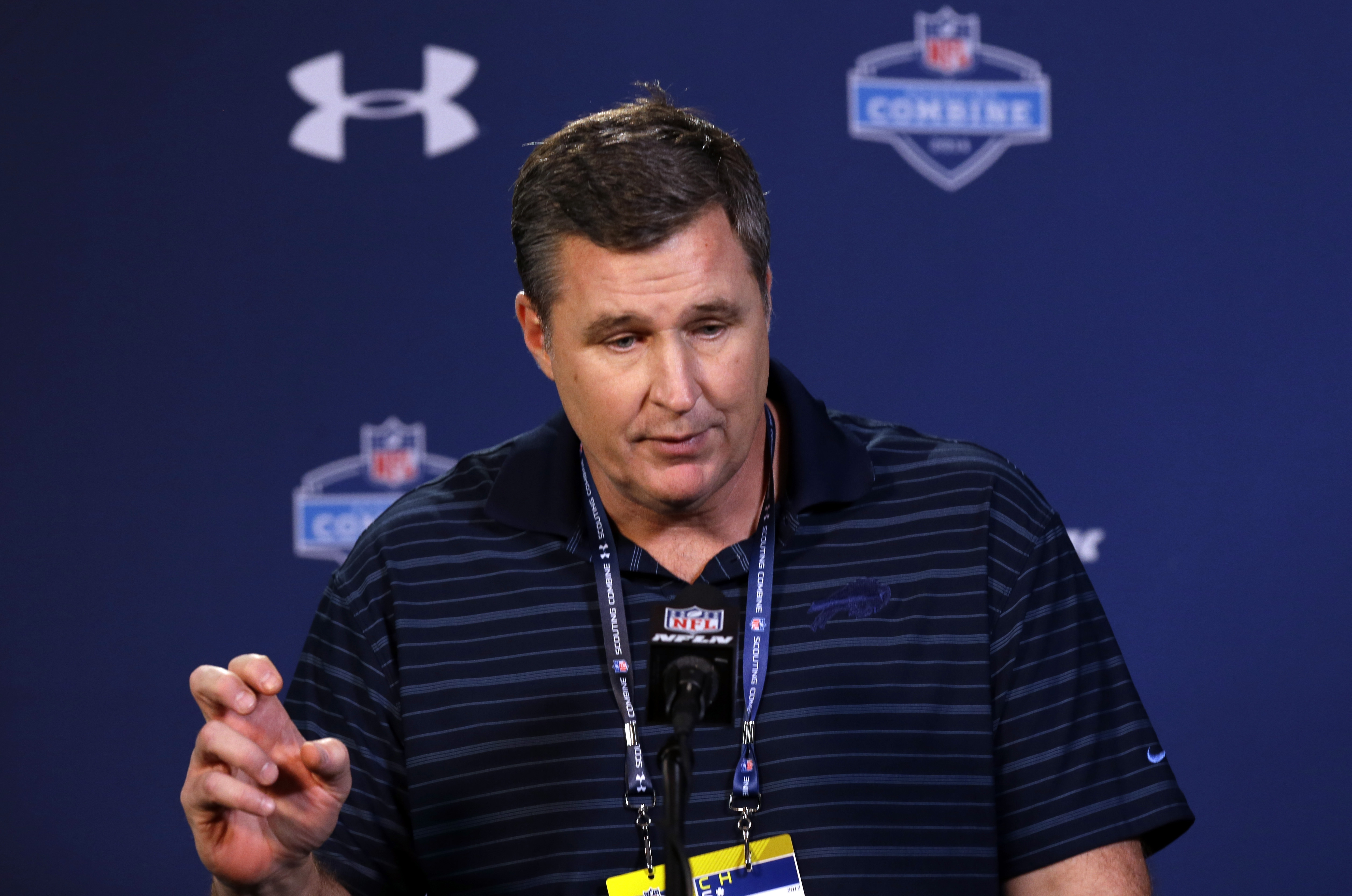 Doug Marrone plans to retain elements of the departed Mike Pettine's defense.