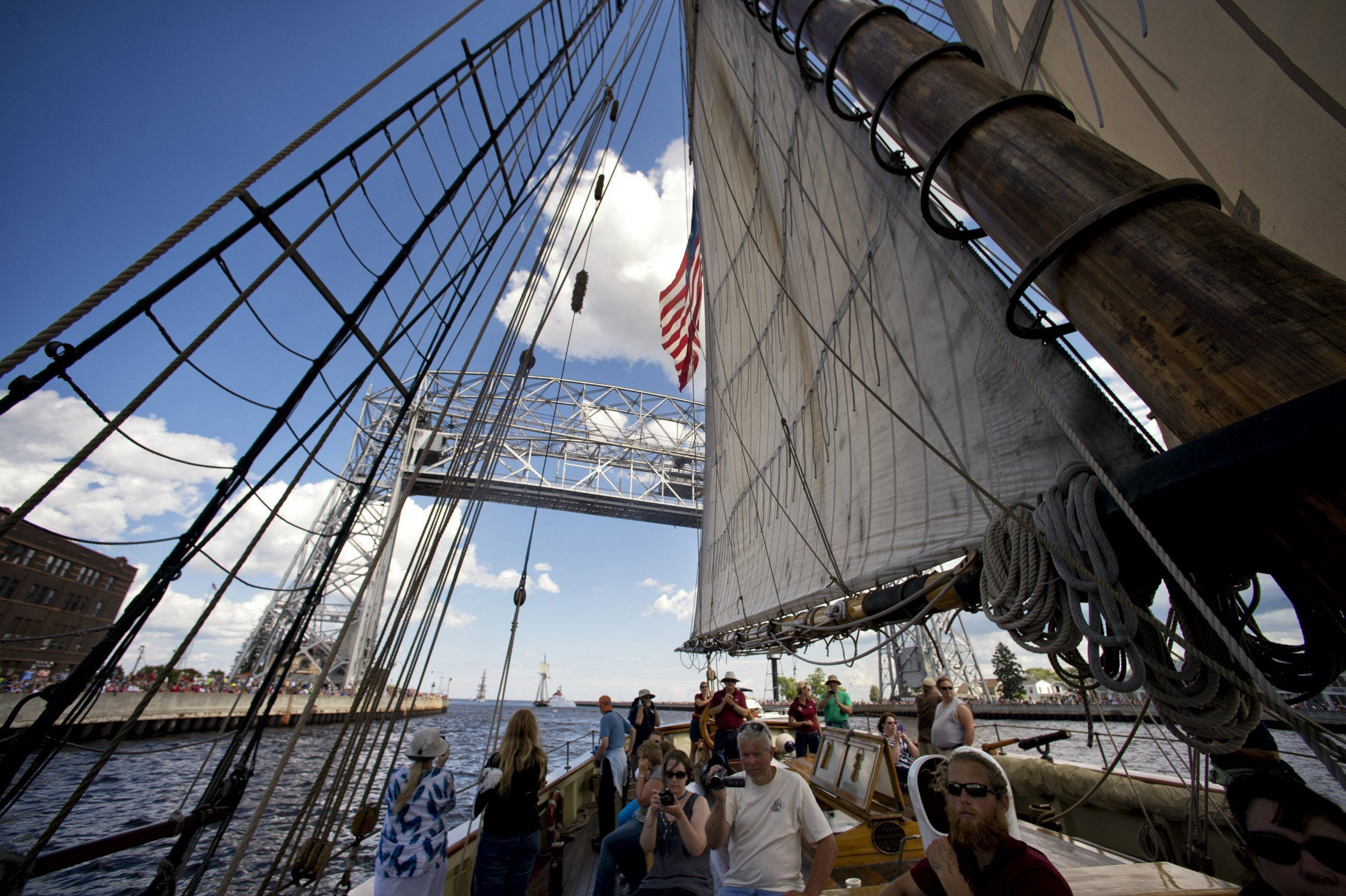 Members of the public can join the crew of the Pride of Baltimore II.