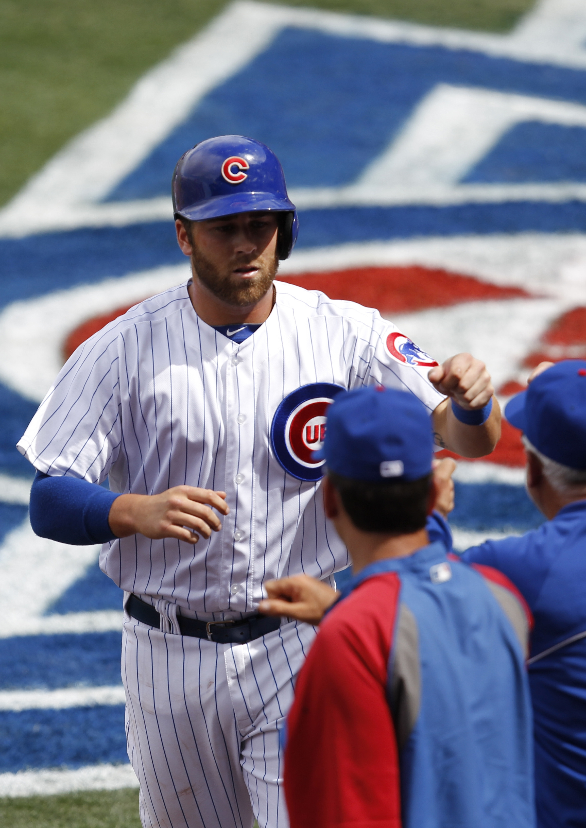 Mike Olt of the Chicago Cubs could be due for a breakout year, according to PECOTA projections from Baseball Prospectus.