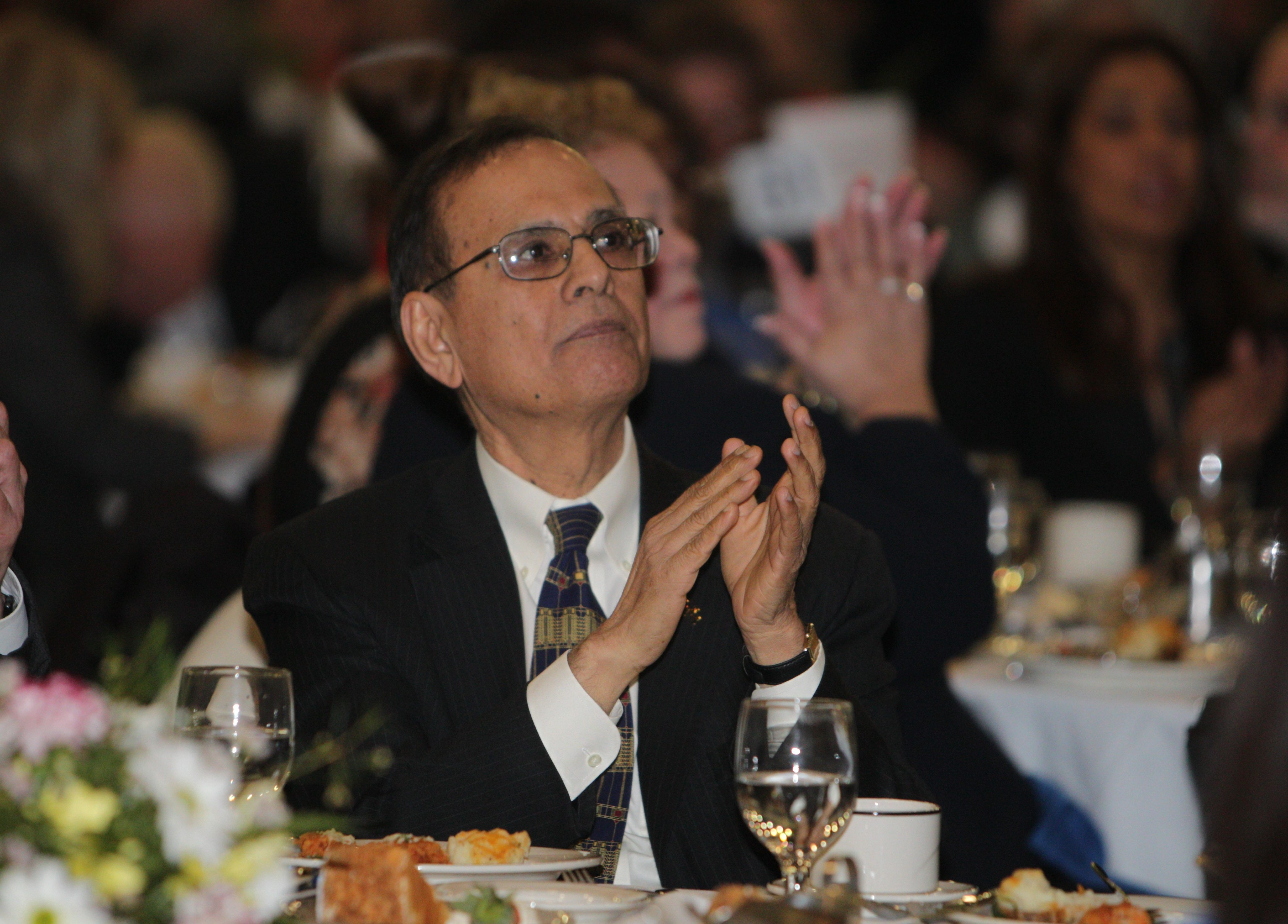 UB President Satish Tripathi says he does not have the authority to release the school's private foundation budget to the public.