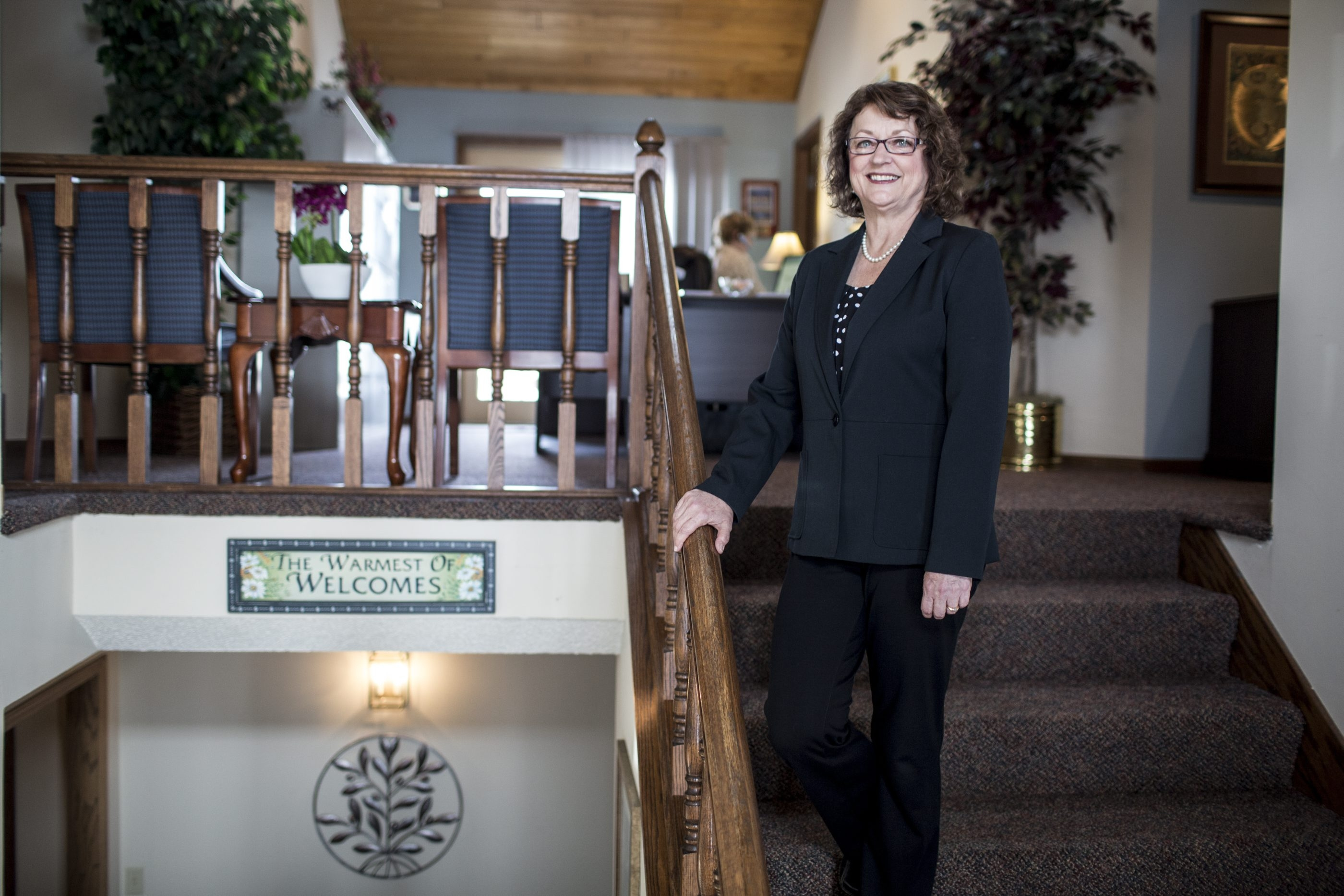Susan Zimmerman, who is both a financial adviser and a family therapist, is seen at her office in Apple Valley, Minn. Couples nearing retirement must discuss not only whether they have enough, but what will happen when routines are different and less money flows in.