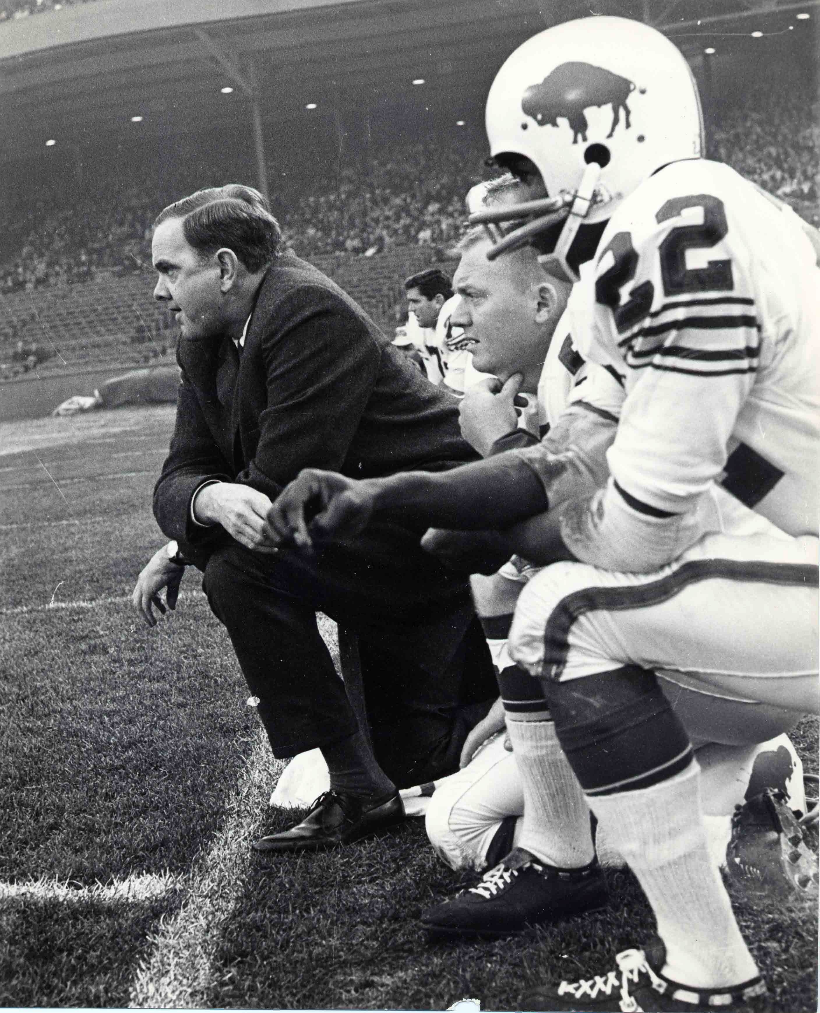 I often wished I had covered Wilson in the early days of the franchise, when he was a much younger man. I envied the late Larry Felser, who covered the Bills from the start, when the AFL was in its infancy and pro football was just beginning to take a hold in America.