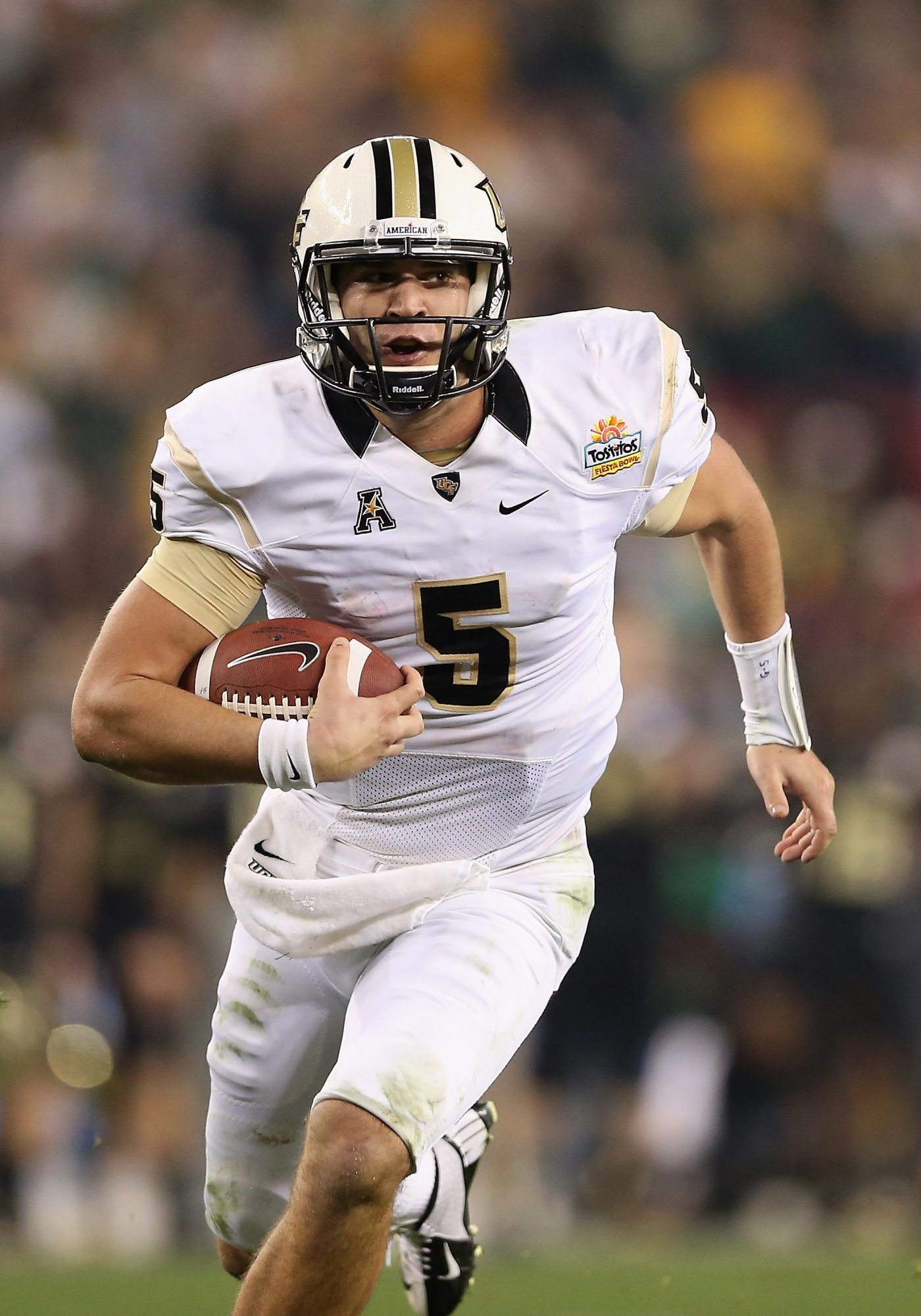 Blake Bortles of UCF figures to be one of the first names called in the NFL draft.