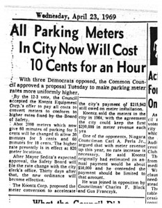 4-23 1969 parking meters now 10 cents