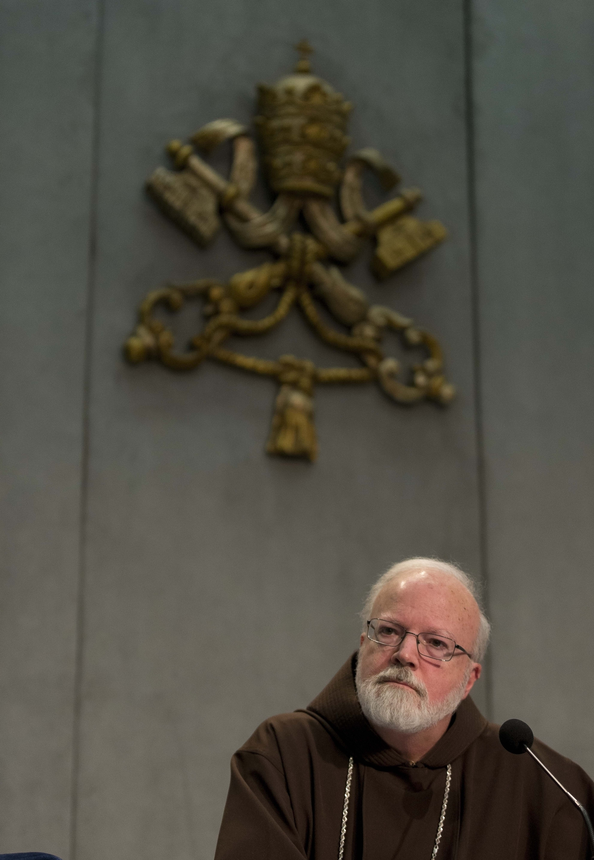 Cardinal Sean O'Malley, archbishop of Boston, is on a commission to advise Pope Francis on sex abuse policy.