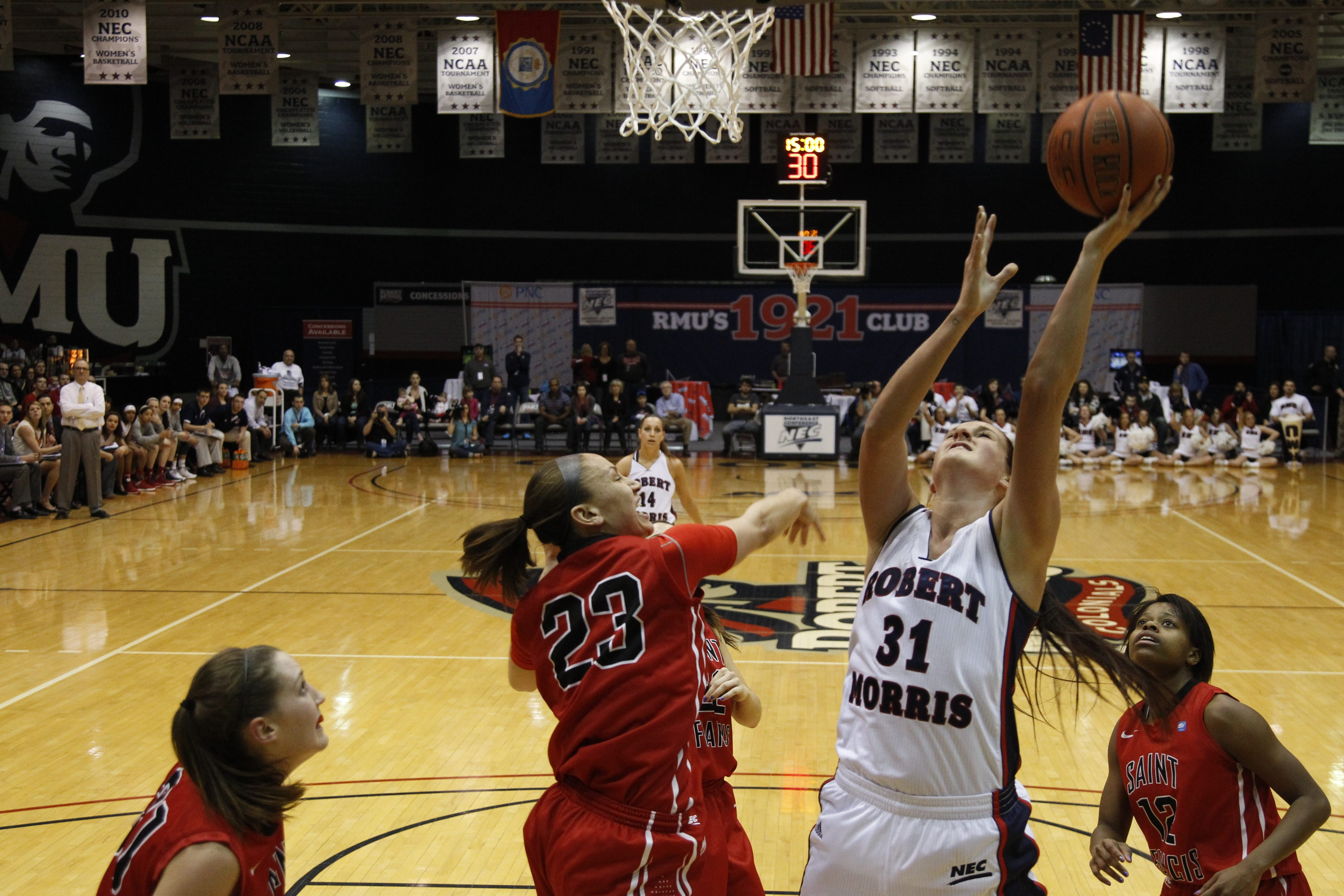 Grand Island graduate Cassie Oursler will start today for Robert Morris when they play Notre Dame in the first round of the NCAAs.