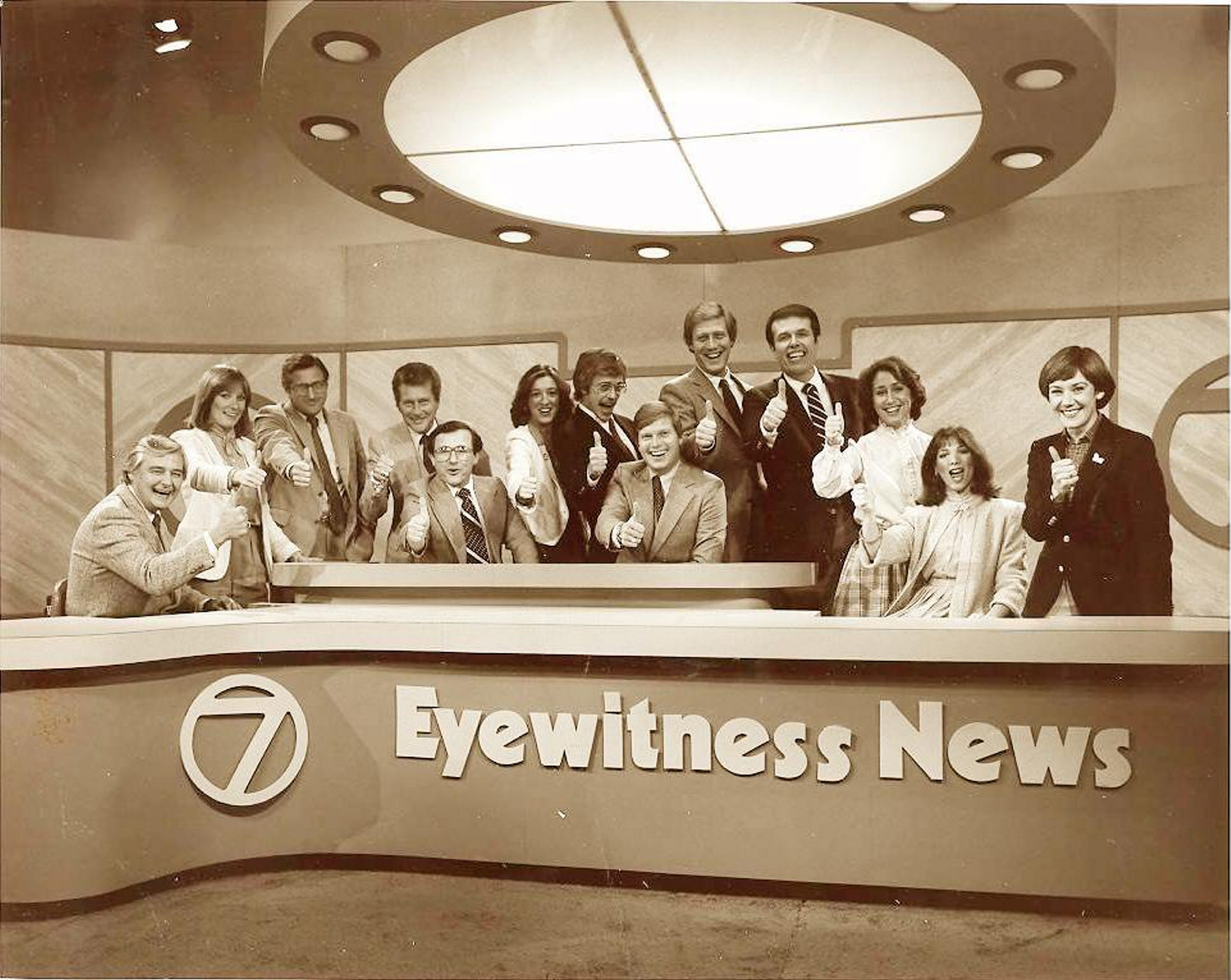 In 1983, Eyewitness News and Channel 7 were at their peak, led by the iconic news team of Irv Weinstein, Rick Azar and Tom Jolls.