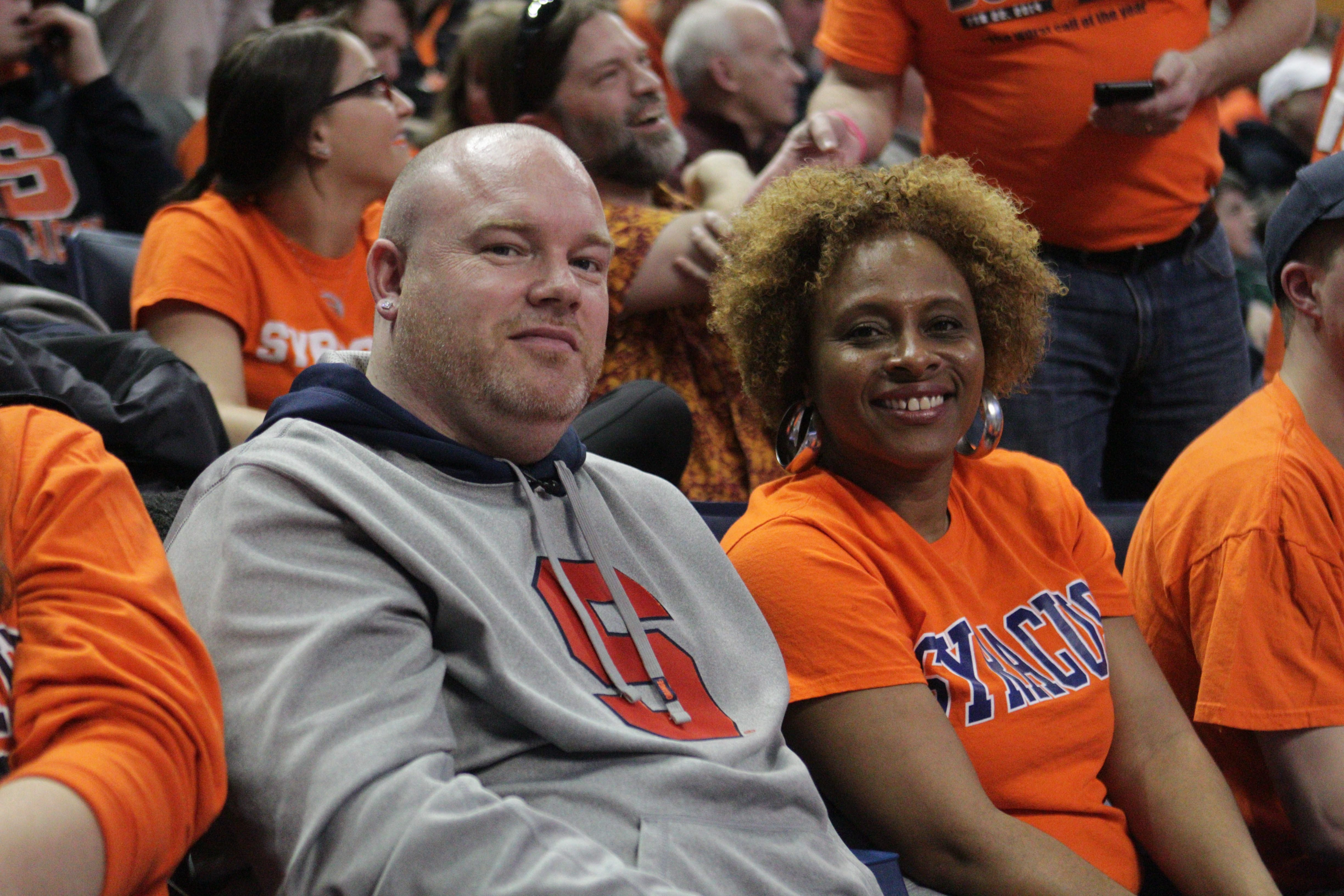 Tony McIntyre and Suzette Ennis are the parents of Syracuse's Tyler Ennis and Villanova's Dylan Ennis.