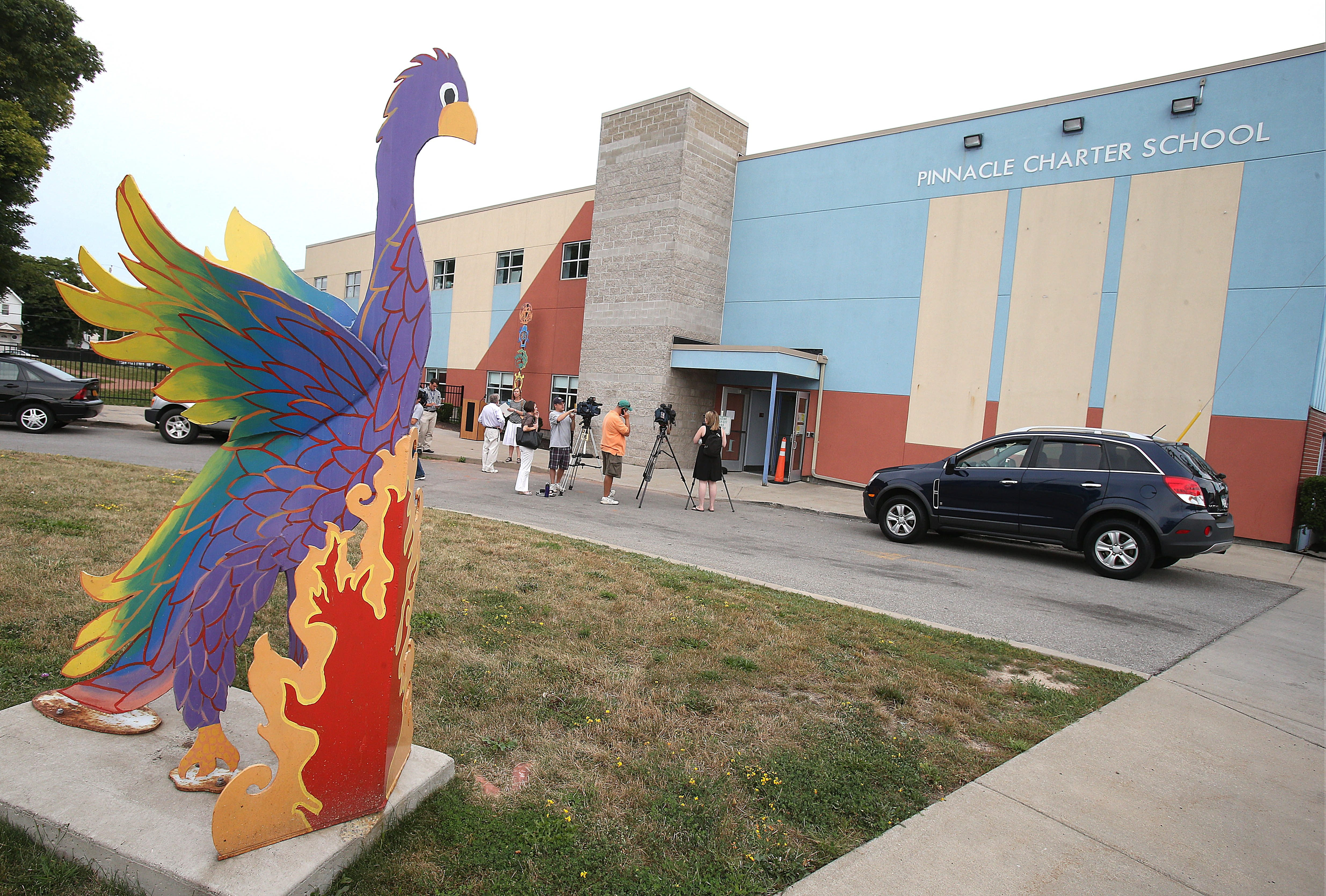 The Buffalo School District has no plan to accommodate students at Pinnacle Charter School, which is being closed by the state. (Robert Kirkham/Buffalo News file photo)