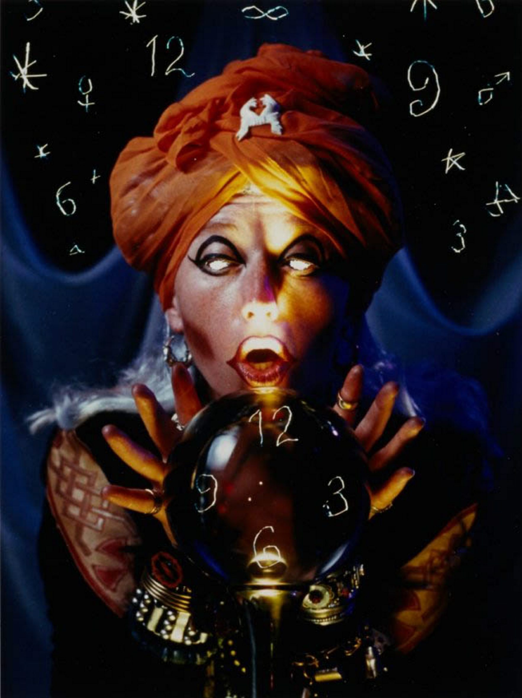 Untitled (Fortune Teller), 1993, Chromogenic color print on Agfa paper, unlimited edition, 11-1/4 x 9-1/4 in.  Collection of Alyssa Rabach Anthone, Buffalo, NY. for Niagara Weekend