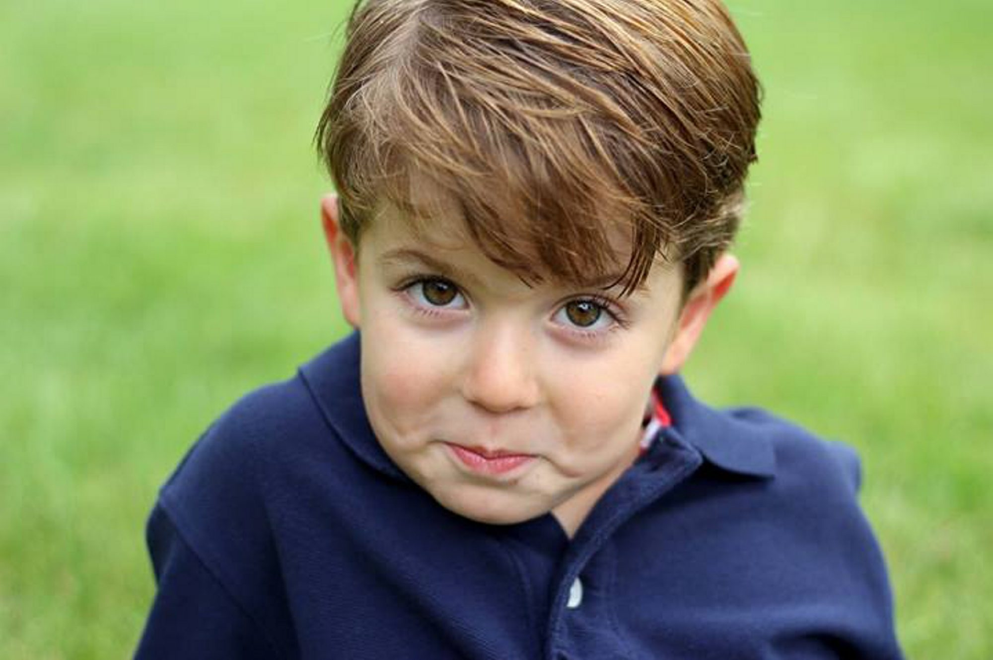 Ben Sauer, 4, began having headaches in January. The source of pain was found to be a pear-sized tumor.