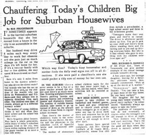 02 may 1964 chauffering big job story