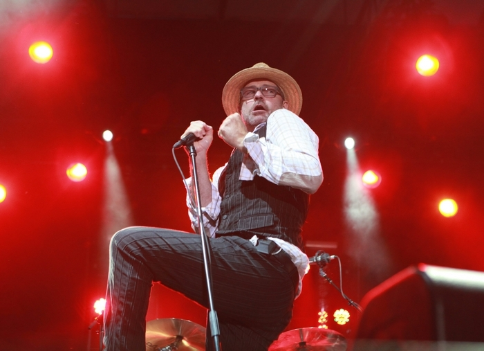Tragically Hip front man Gord Downie joins  alt-country/roots band the Sadies in a Canadian rock dream team. (Sharon Cantillon / Buffalo News file photo)