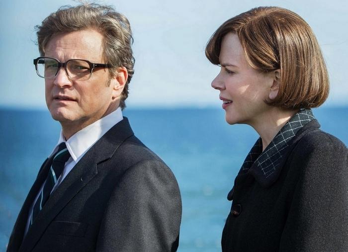 "Colin Firth and Nicole Kidman star in ""The Railway Man."""