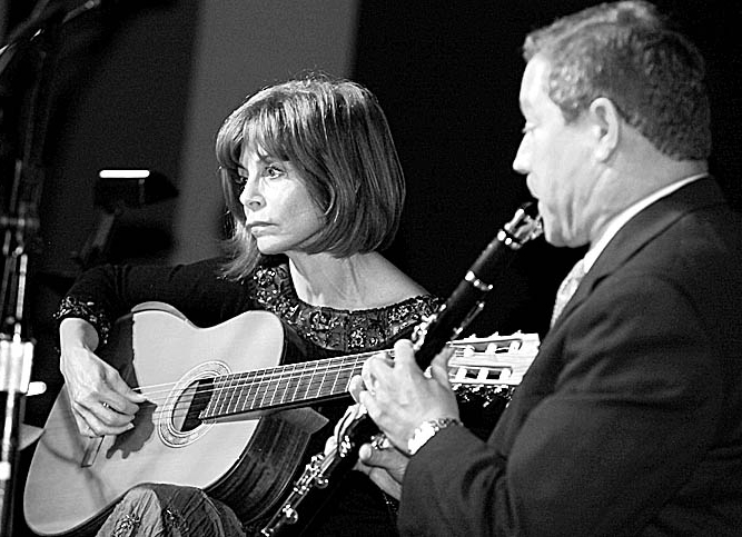 News file photo JoAnn Falletta, seen here playing guitar at Buffalo State in 2012, performed with the Buffalo Chamber Players at the chapel in Buffalo Seminary on Wednesday.