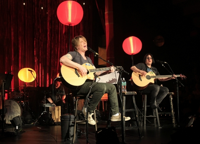 The Goo Goo Dolls performed an acoustic show at the Seneca Niagara Casino's Bear's Den on April 12, 2014. (Harry Scull Jr./Buffalo News)