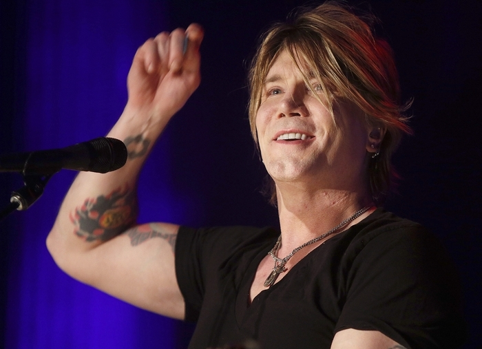 Lead singer John Rzeznik during the Goo Goo Dolls Otis Midnight Sessions acoustic tour at the North Park Theatre on Hertel Avenue in Buffalo on Tuesday, April 29, 2014.  (Robert Kirkham/Buffalo News)
