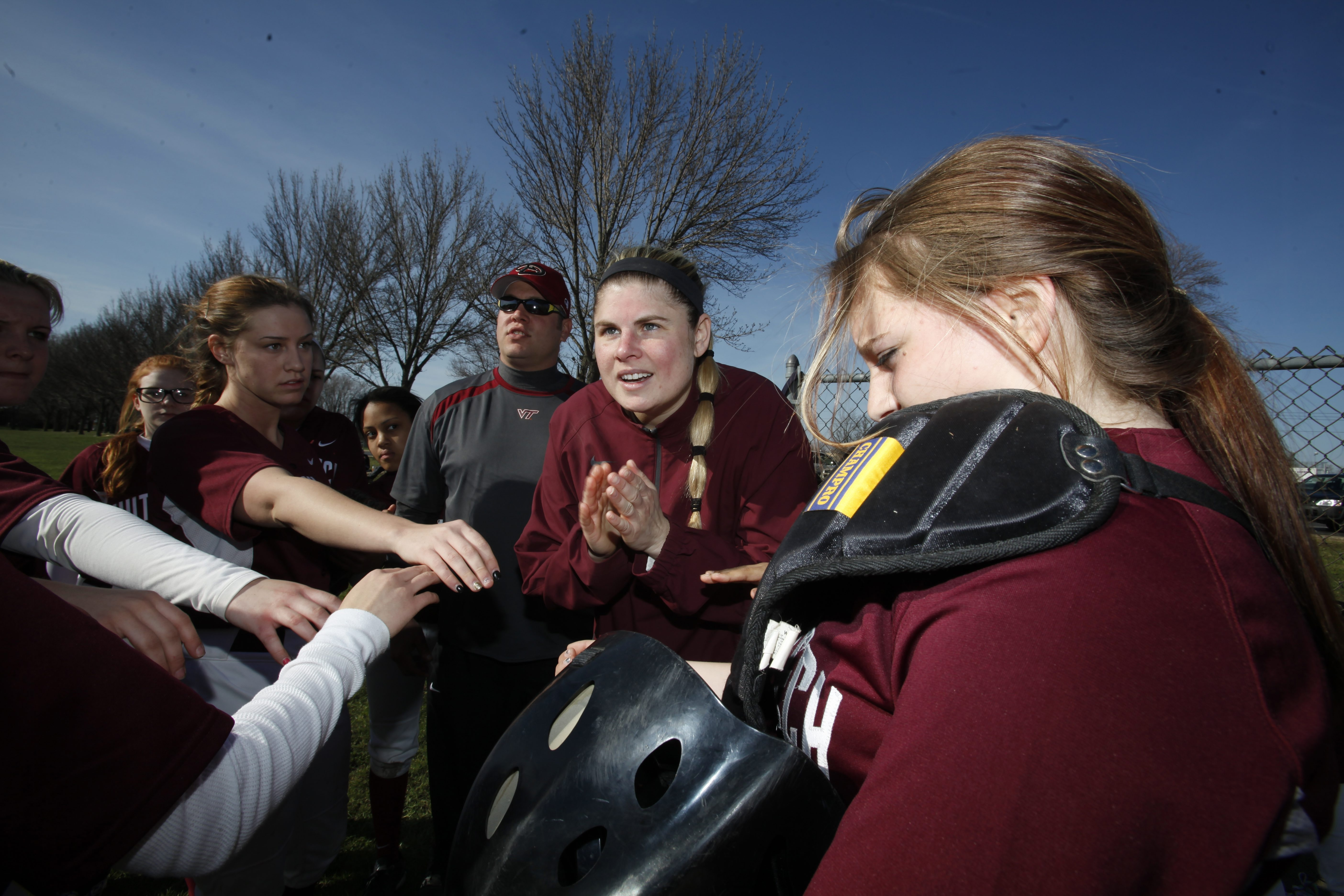 Kara Husband-Zimdahl brings years of experience playing softball at all levels to her first year as  head coach at Hutch Tech in the Buffalo Public Schools.