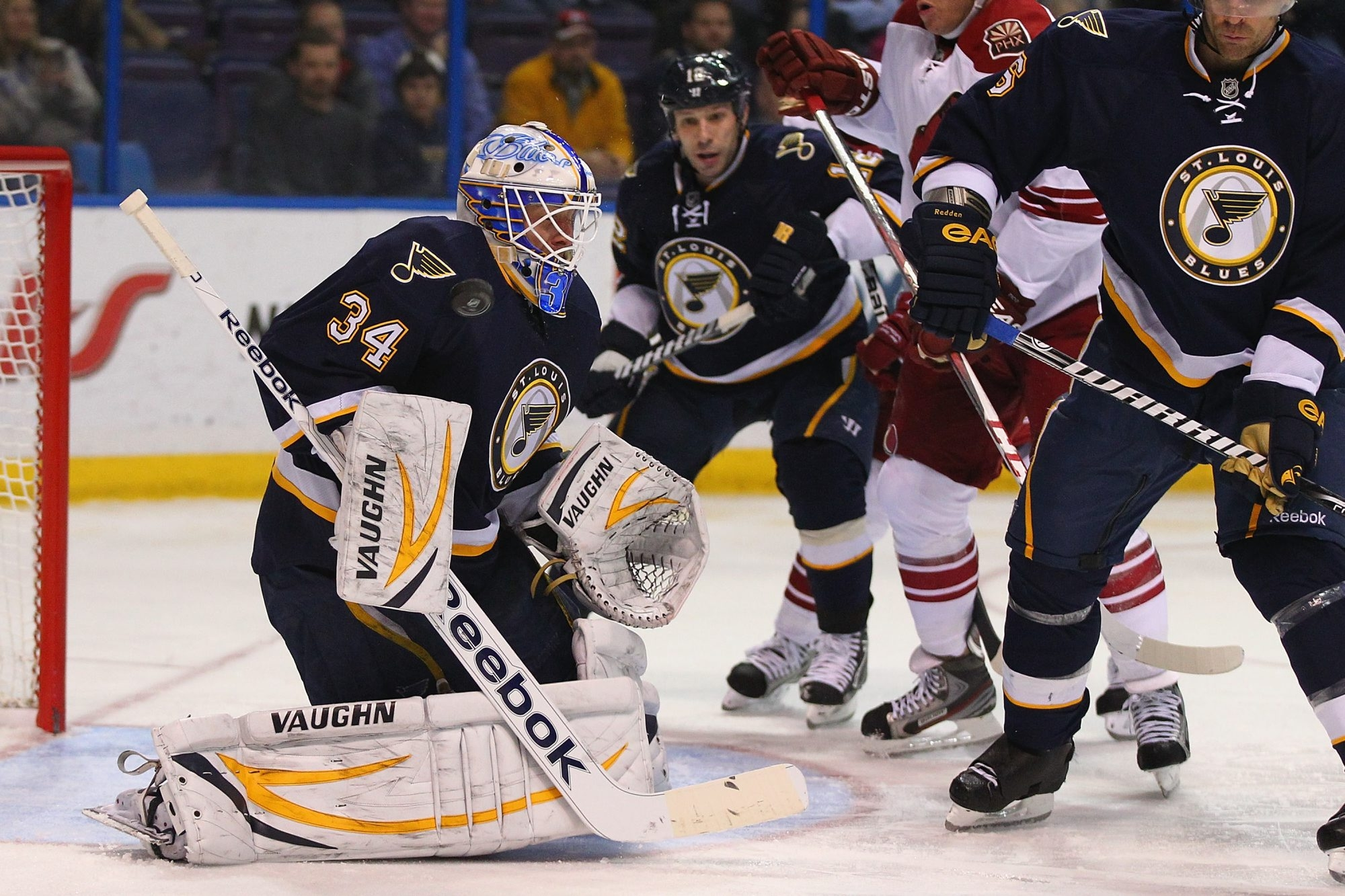 Jake Allen of the AHL Chicago Wolves is waiting his opportunity to be the St. Louis Blues' goalie of the future.