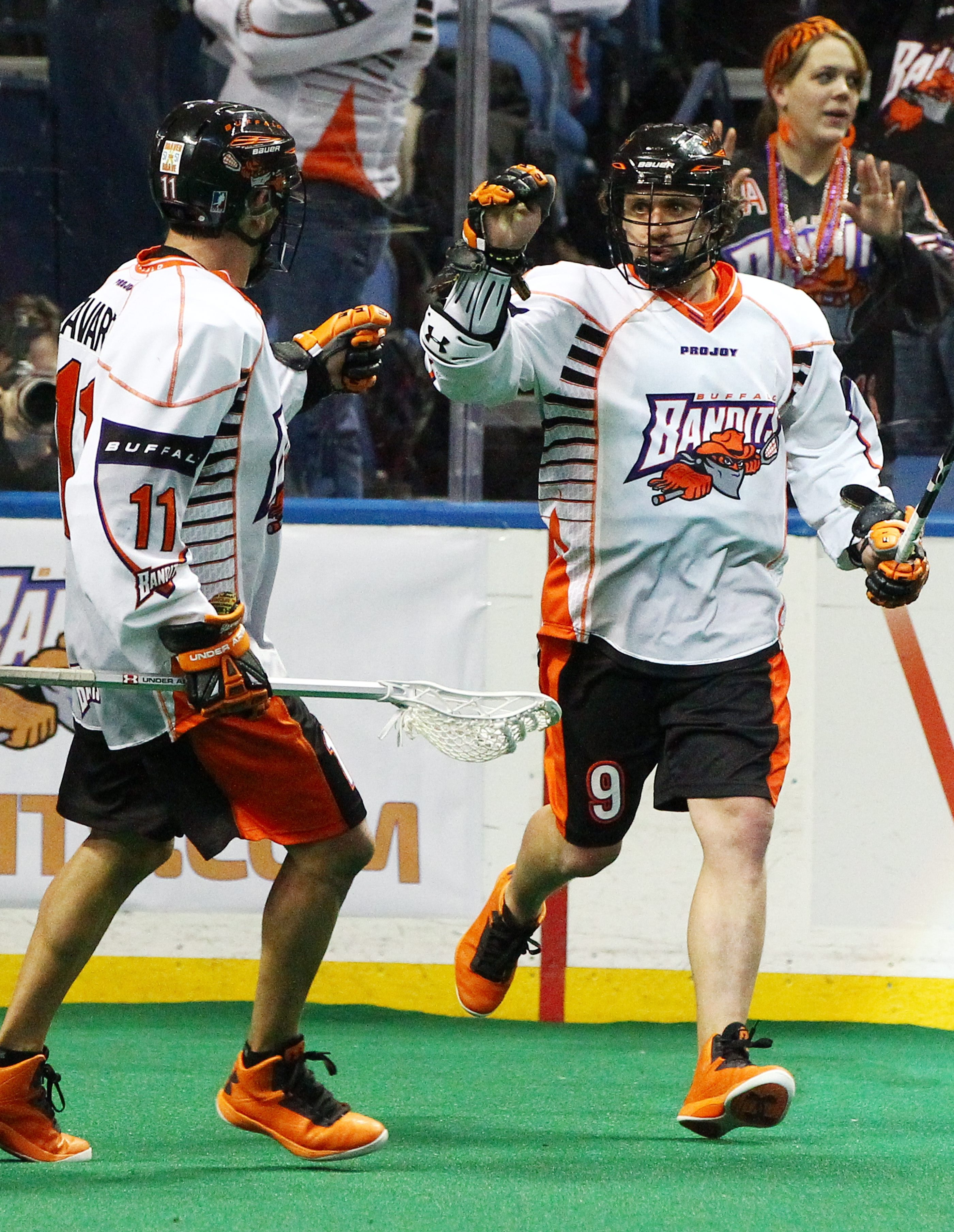 "Buffalo Bandits' Mark Steenhuis, the team's leading goal scorer, said, ""This game is big. We want it bad."""