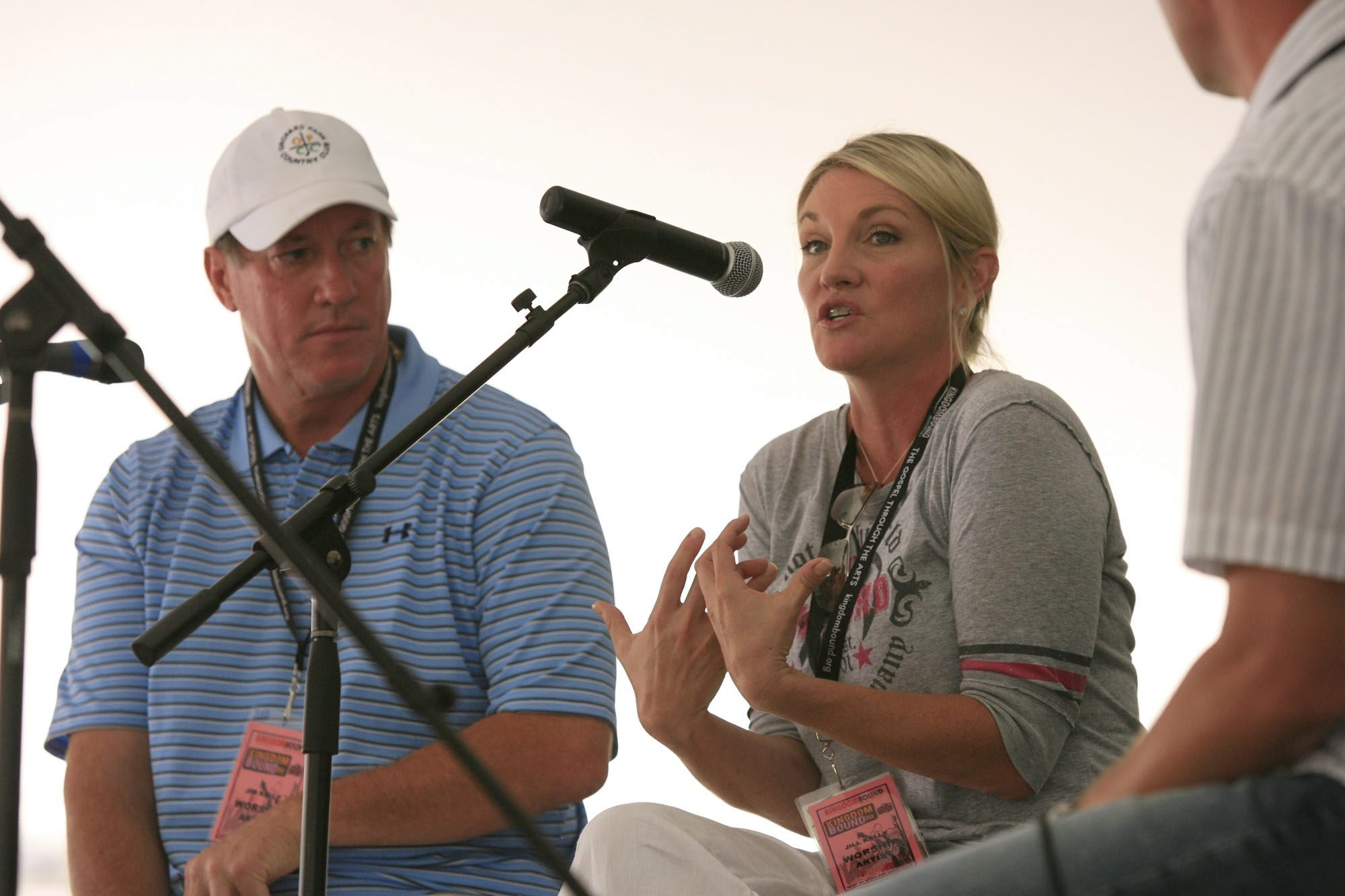 Jim and Jill Kelly, pictured above in August 2010 at Darien Lake, have returned to Western New York.  Harry Scull Jr./News file photo