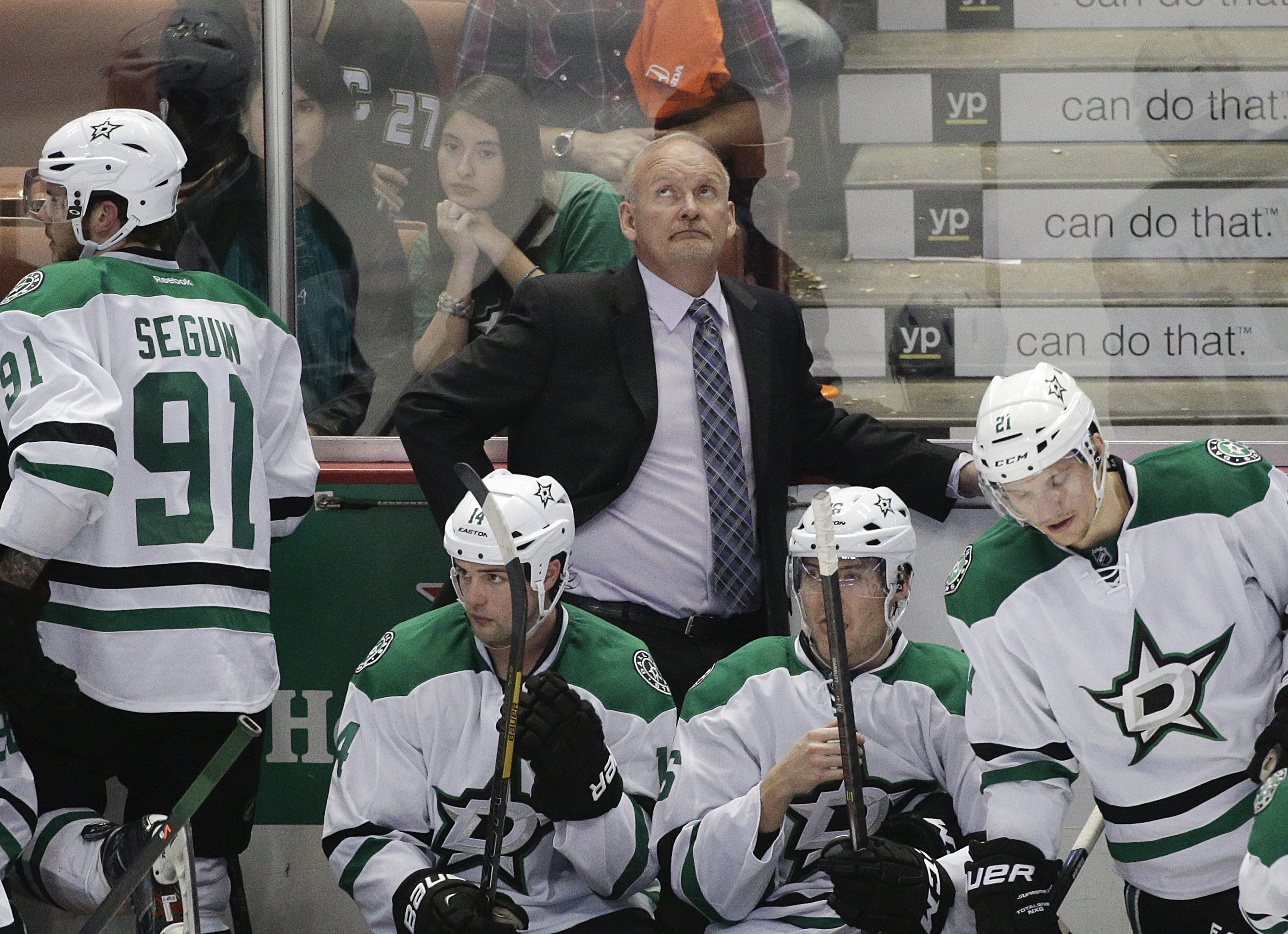 Former Sabres coach Lindy Ruff led Dallas into the playoffs and helped them back from a 2-0 deficit to square up the series with the Anaheim.