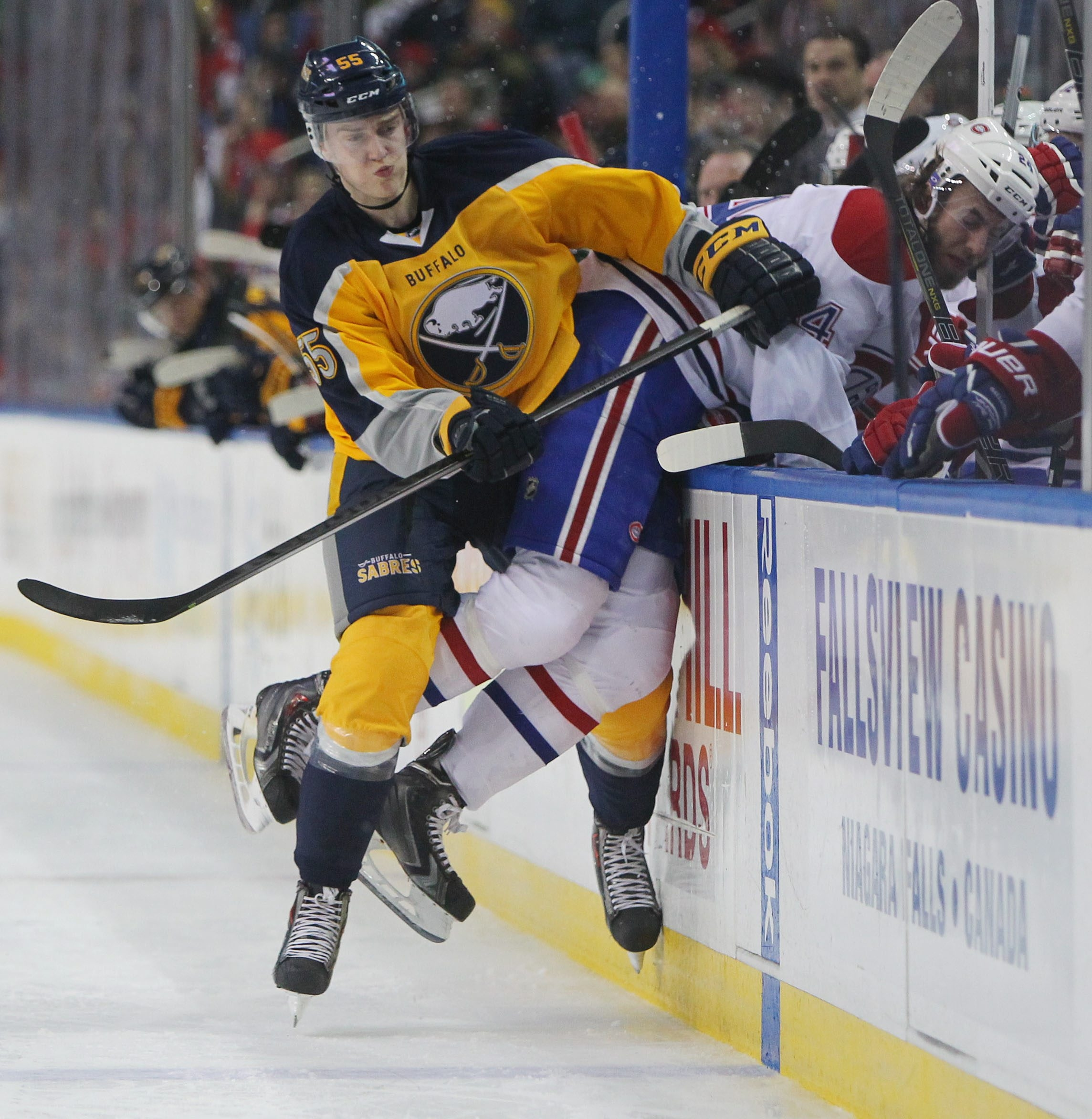 Rasmus Ristolainen looks to benefit from playoff experience.