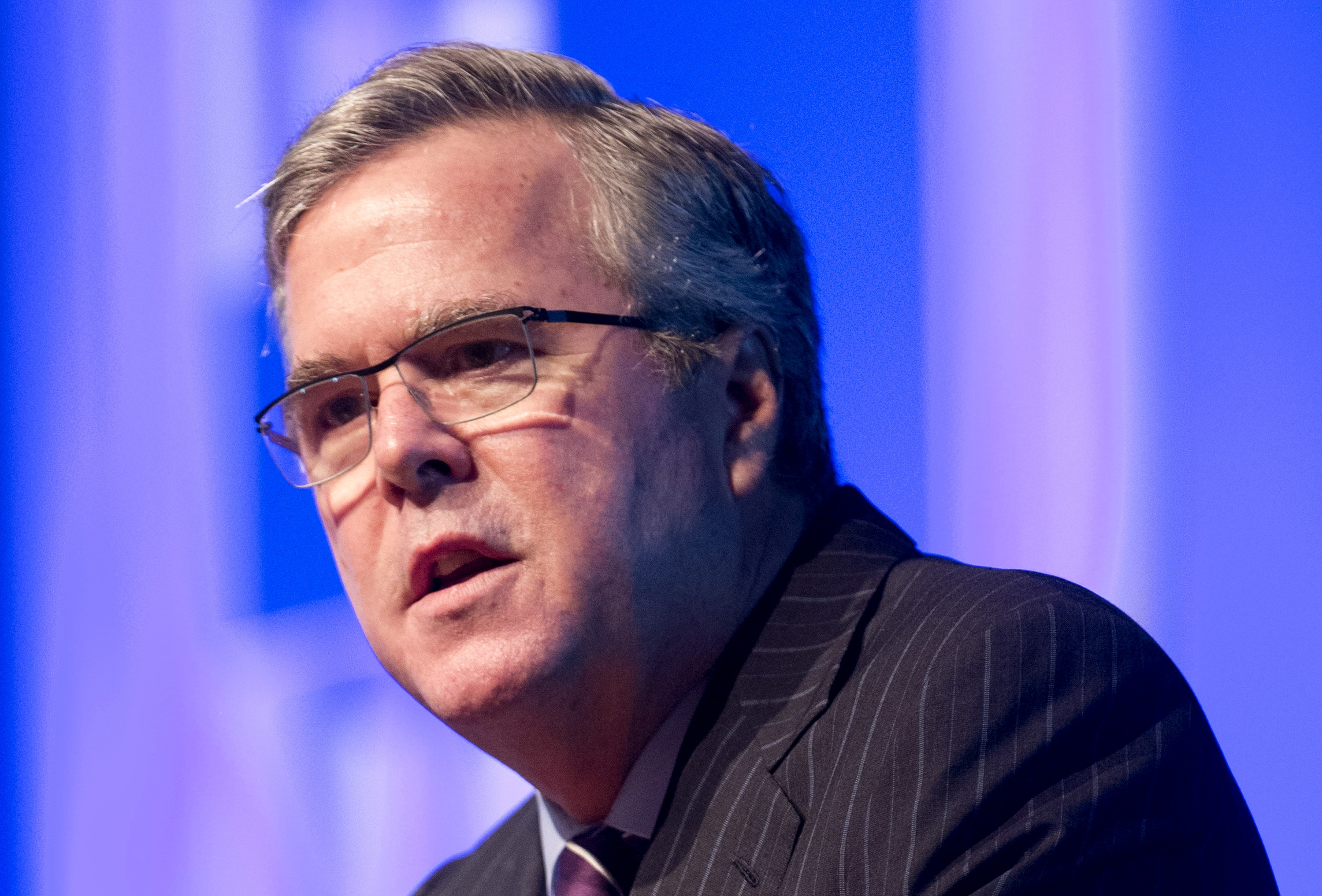 Jeb Bush's policies on immigration and Common Core represent a path for the Republican Party to regain the White House. (AP photo)