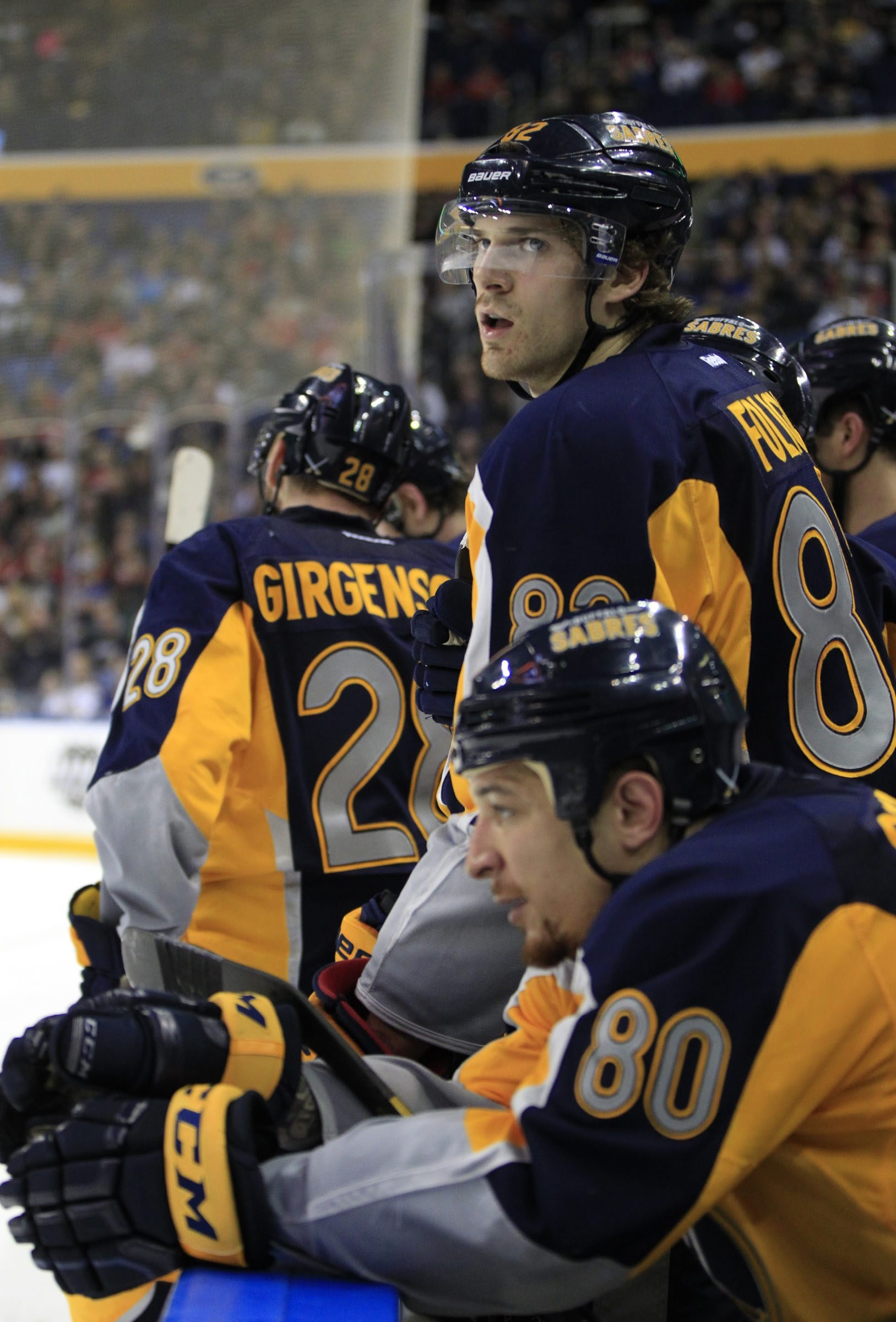 Sabres' Marcus Foligno knows he has to consistently play at a high level to get ice time.