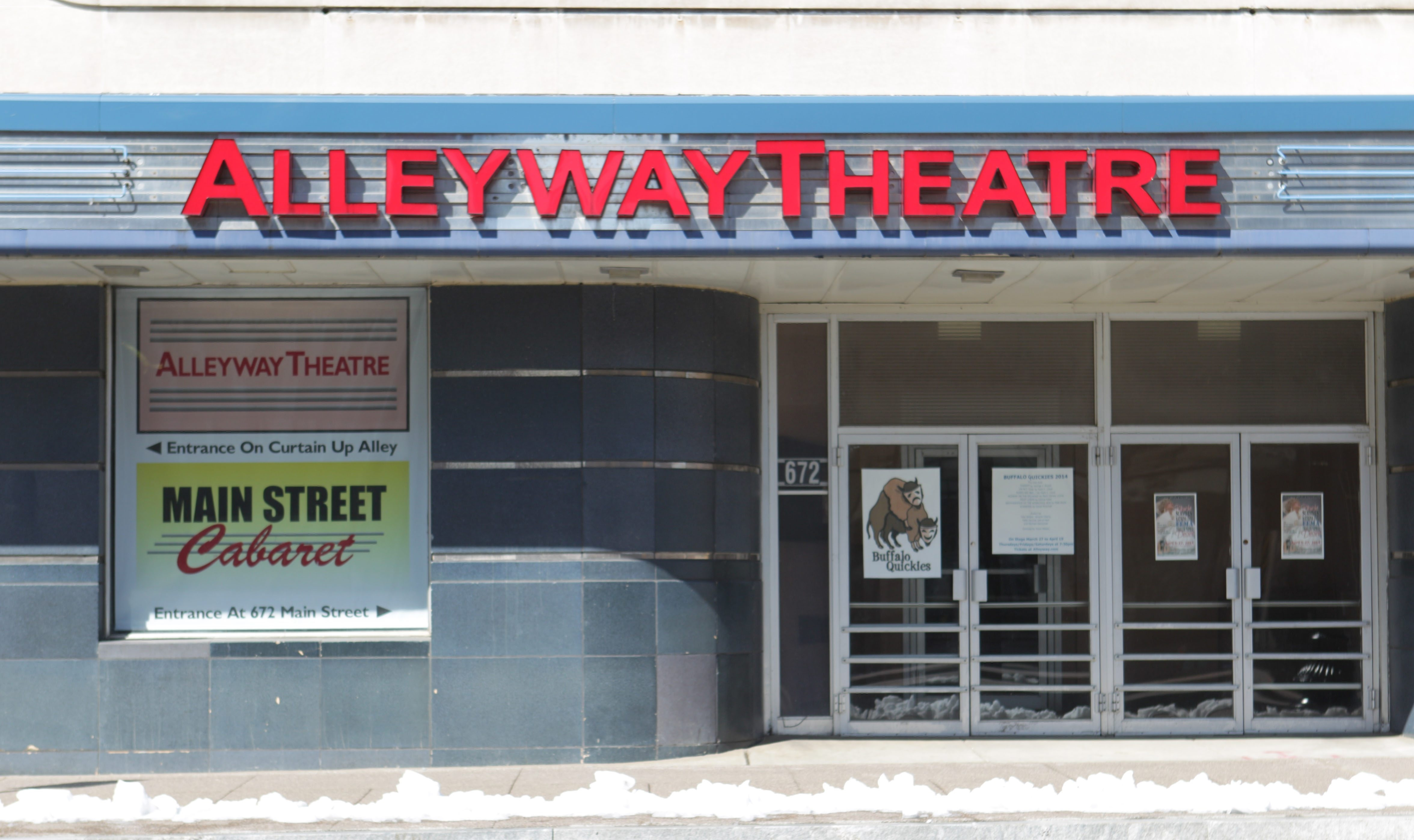 Buffalo United Artists will call Alleyway Theatre home for the 2014-15 season. (Sharon Cantillon/Buffalo News)