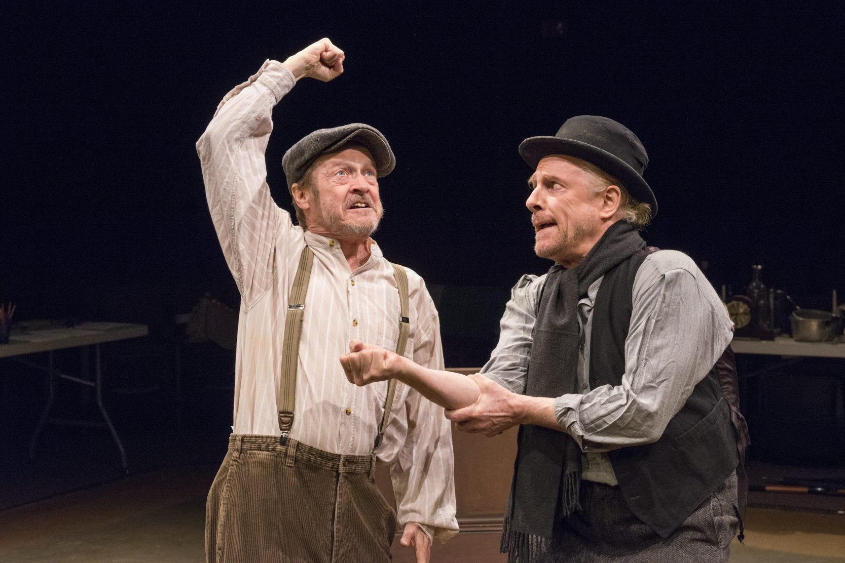"""Gerry Maher and Vincent O'Neill star in """"The Plough and the Stars."""""""
