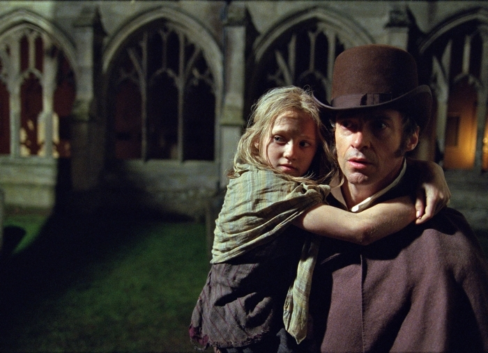 """Hugh Jackman and Isabelle Allen in  """"Les Miserables,"""" which found a global  audience"""