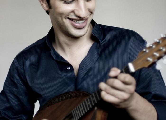 "Mandolin virtuoso Avi Avital's ""Between Worlds"" is a delight. (Guy Hecht)"
