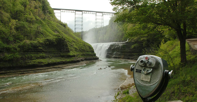 The Upper Falls at Letchworth State Park. (News file photo)